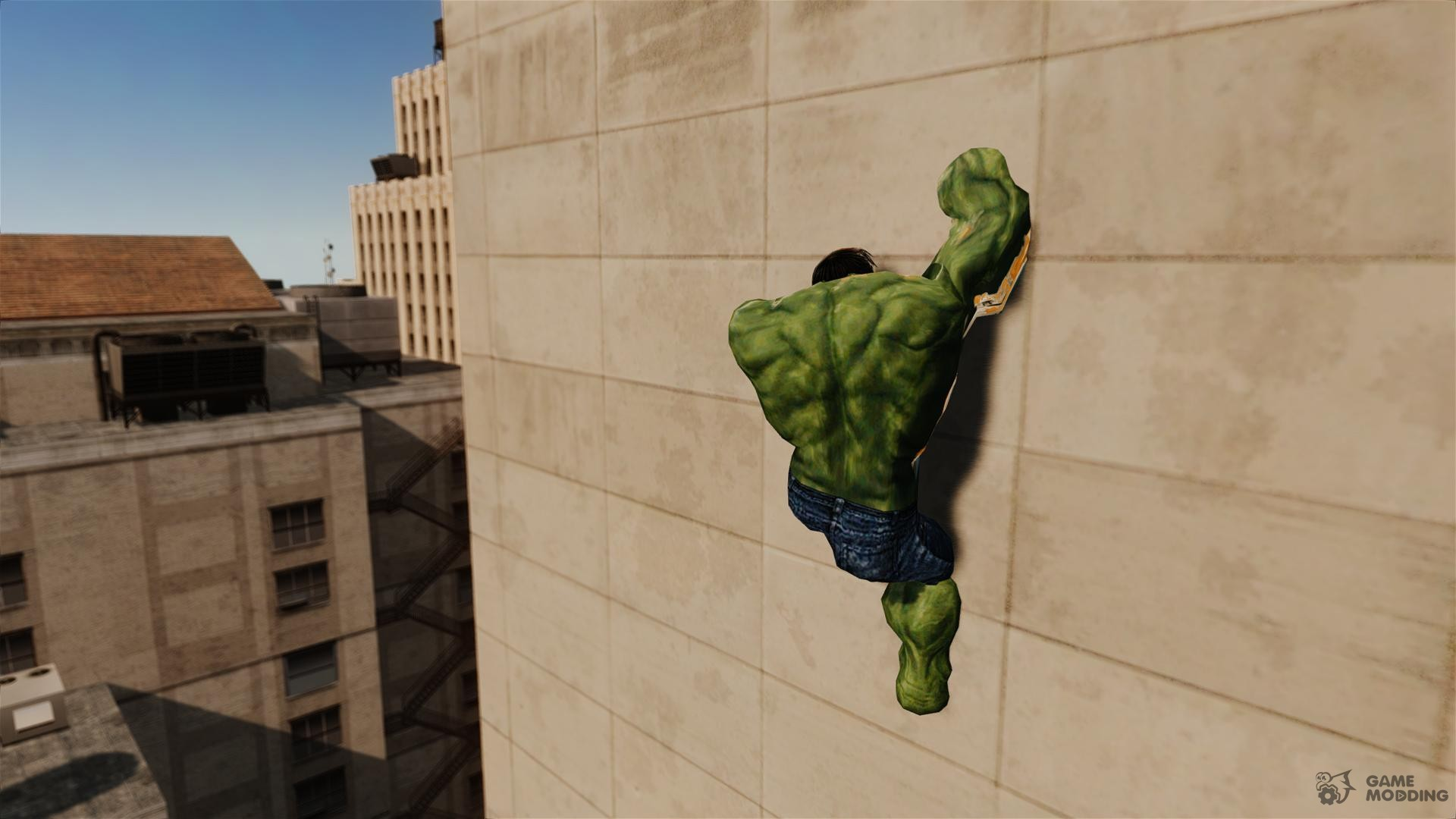 Hulk script for GTA 4