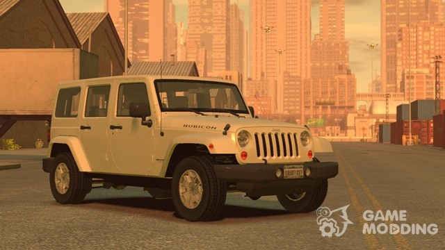 Us Automatic Patriot >> Jeep Wrangler Unlimited Rubicon 2013 for GTA 4