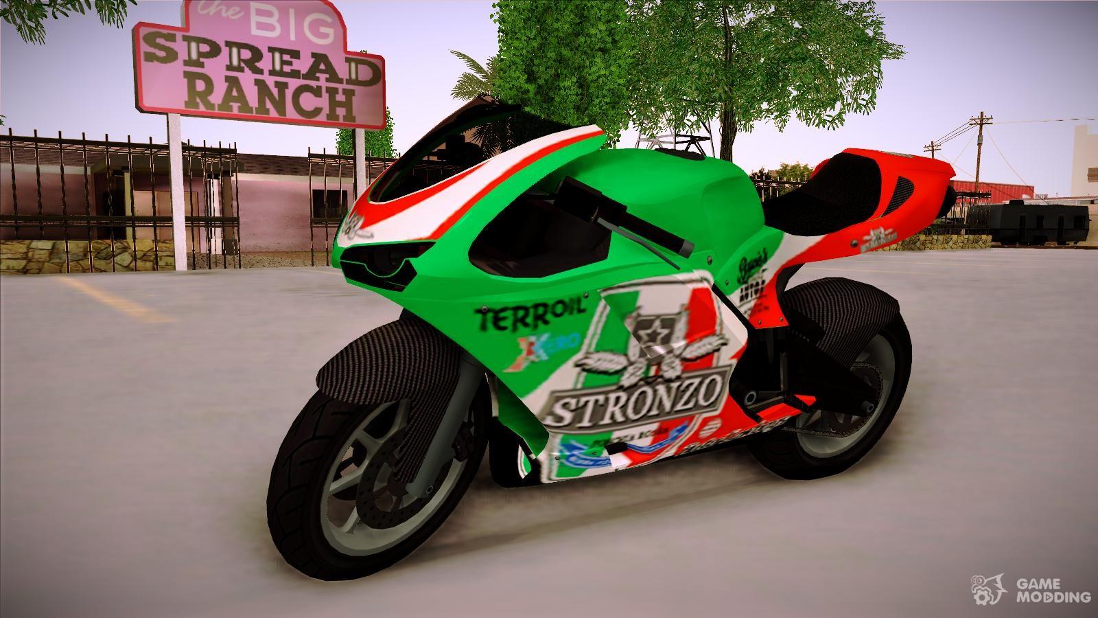 To Bati Rr 801 Stronzo For Gta San Andreas