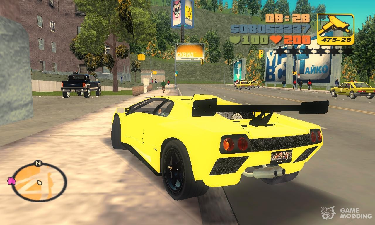 Lamborghini Diablo Gtr Tt Black Revel Quot For Gta 3