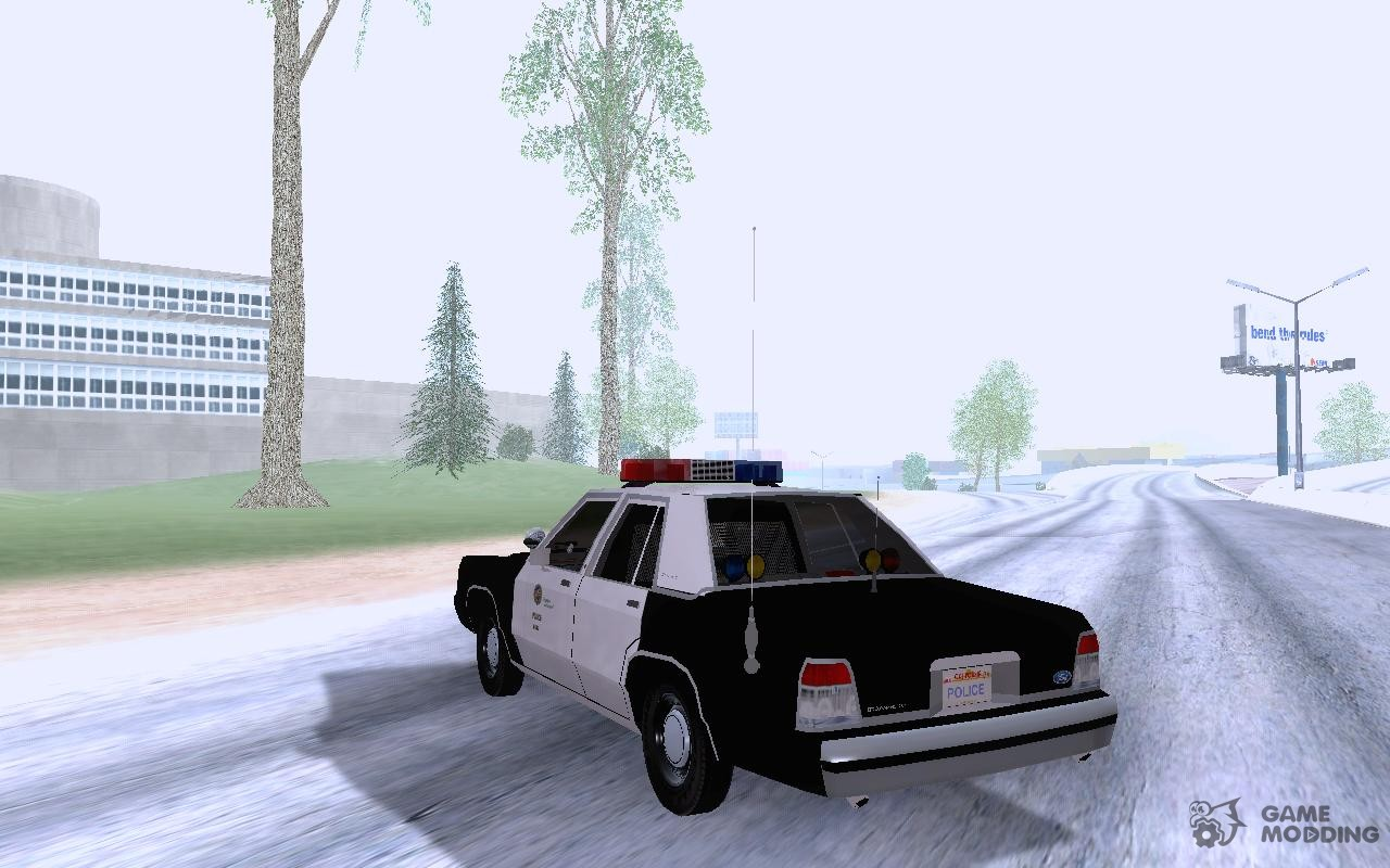 Ford Crown Victoria Ltd Lapd  For Gta San Andreas Left View