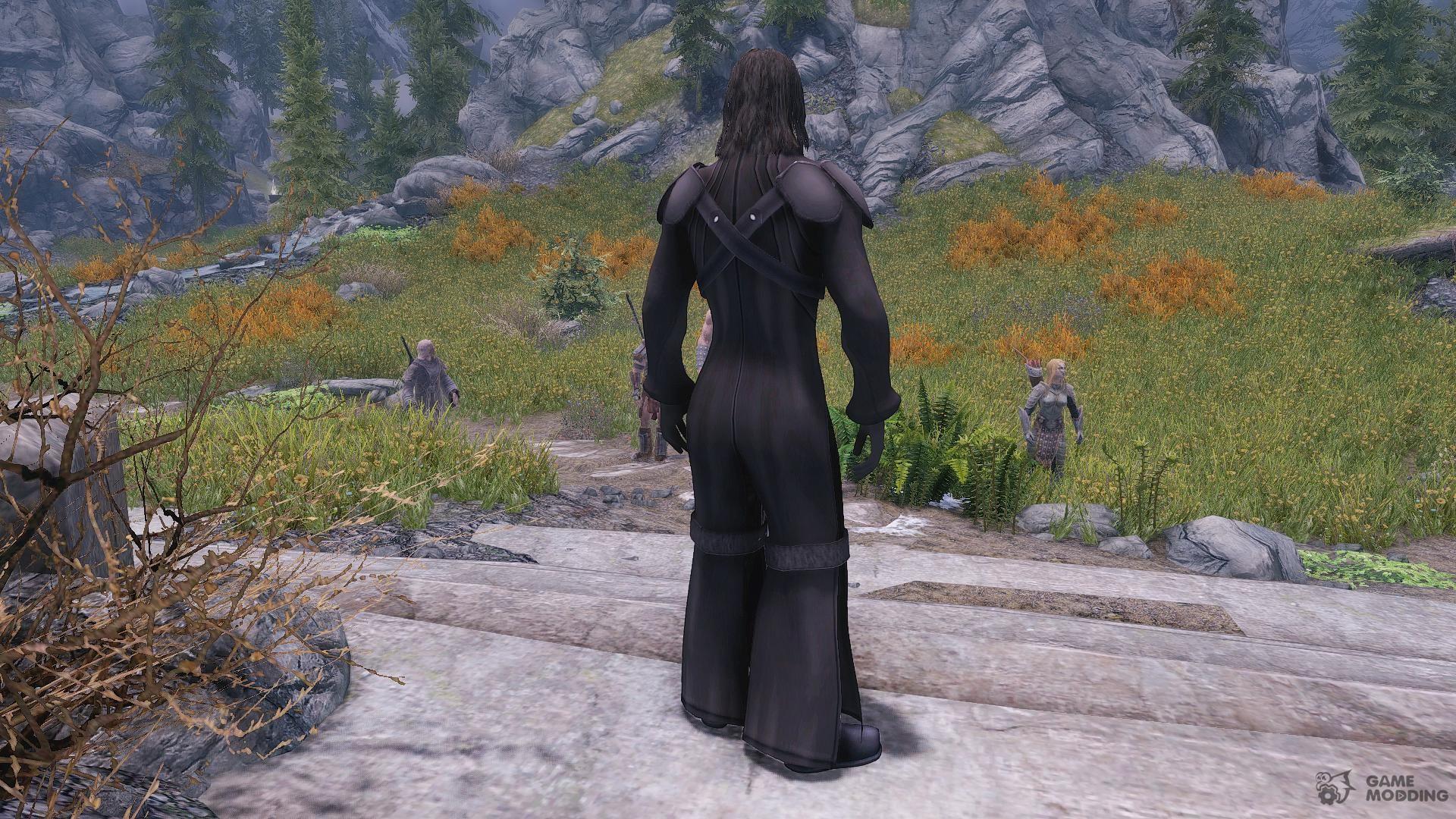Kadaj - Final Fantasy AC Clothes and Hairstyle for TES V: Skyrim