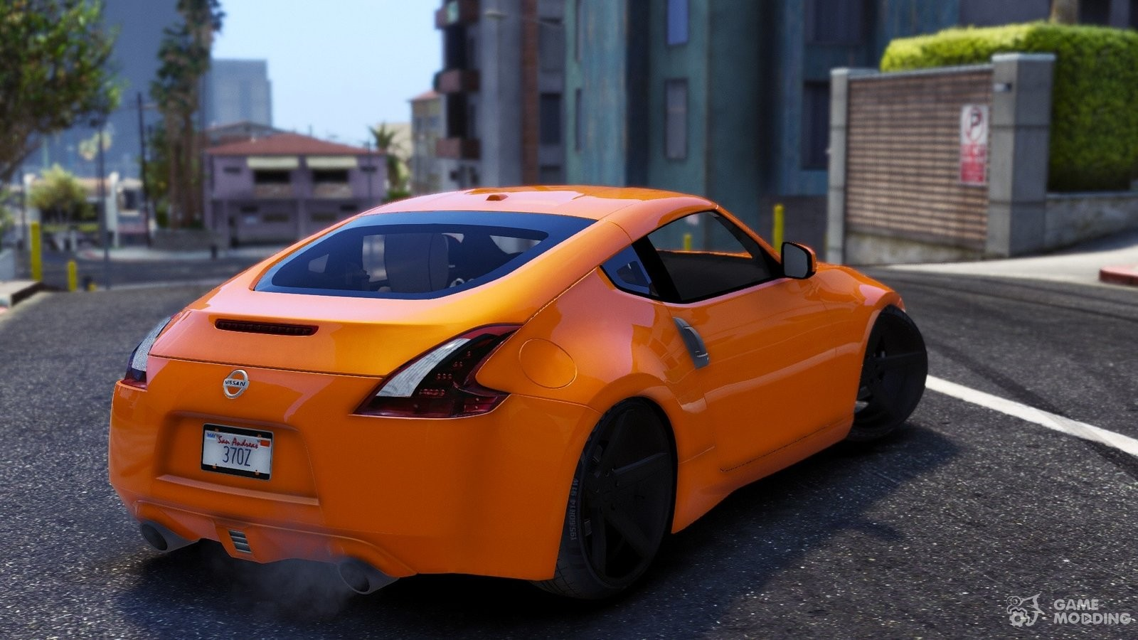 Nissan 370z V2 0 For Gta 5