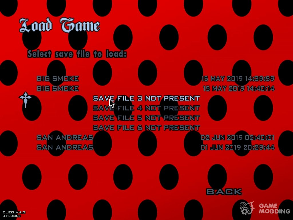 Miraculous Ladybug Loading Screen for GTA San Andreas