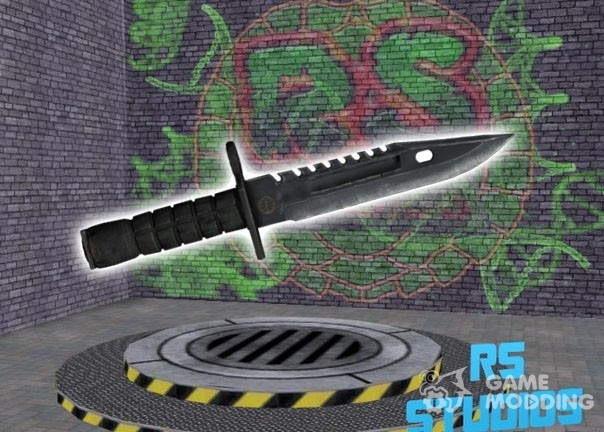 фото нож штык из кс го