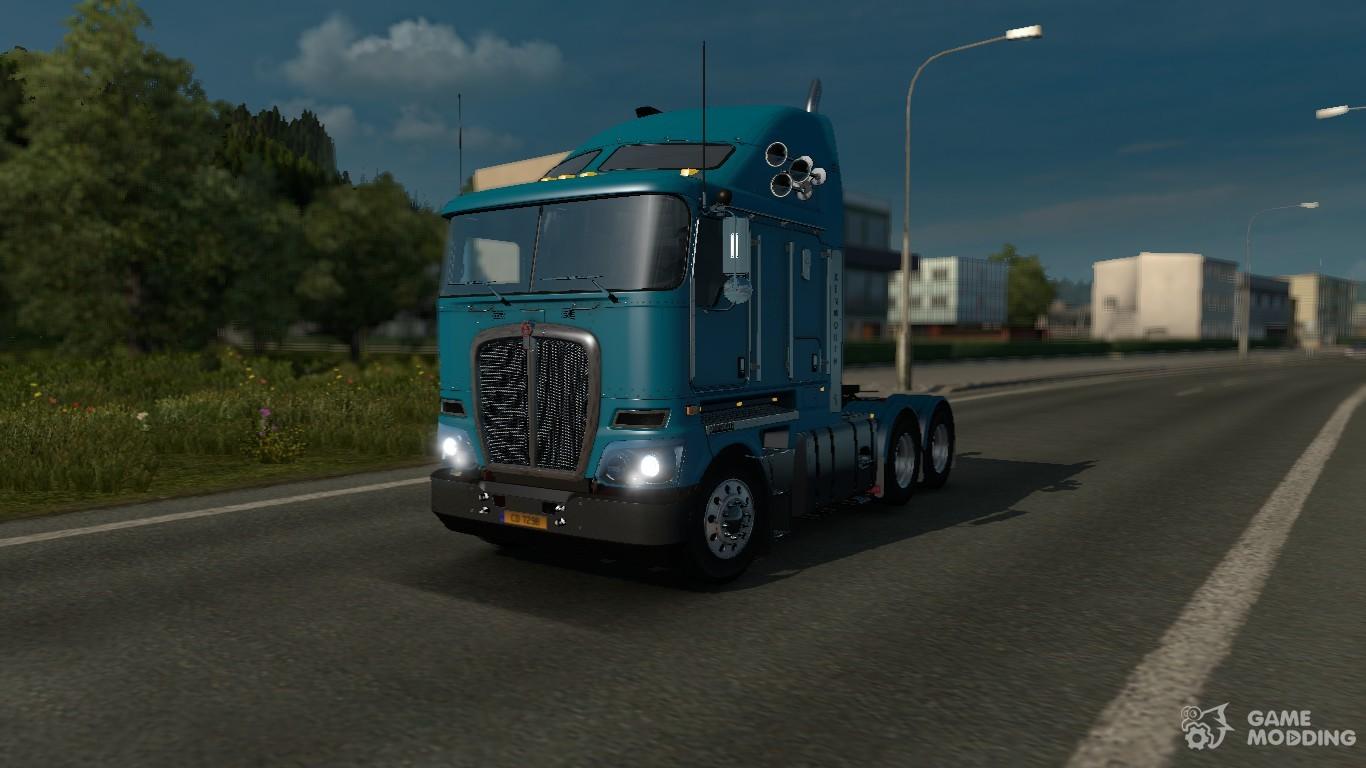Скачать Euro Truck Simulator 2 Kenworth K 200