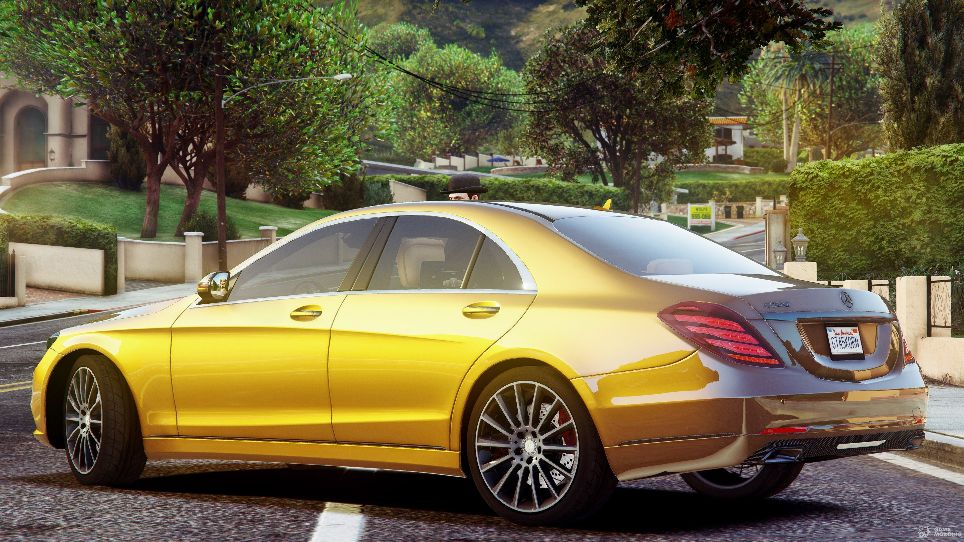 Mercedes benz s500 w222 2 2 for gta 5 for S 500 mercedes benz