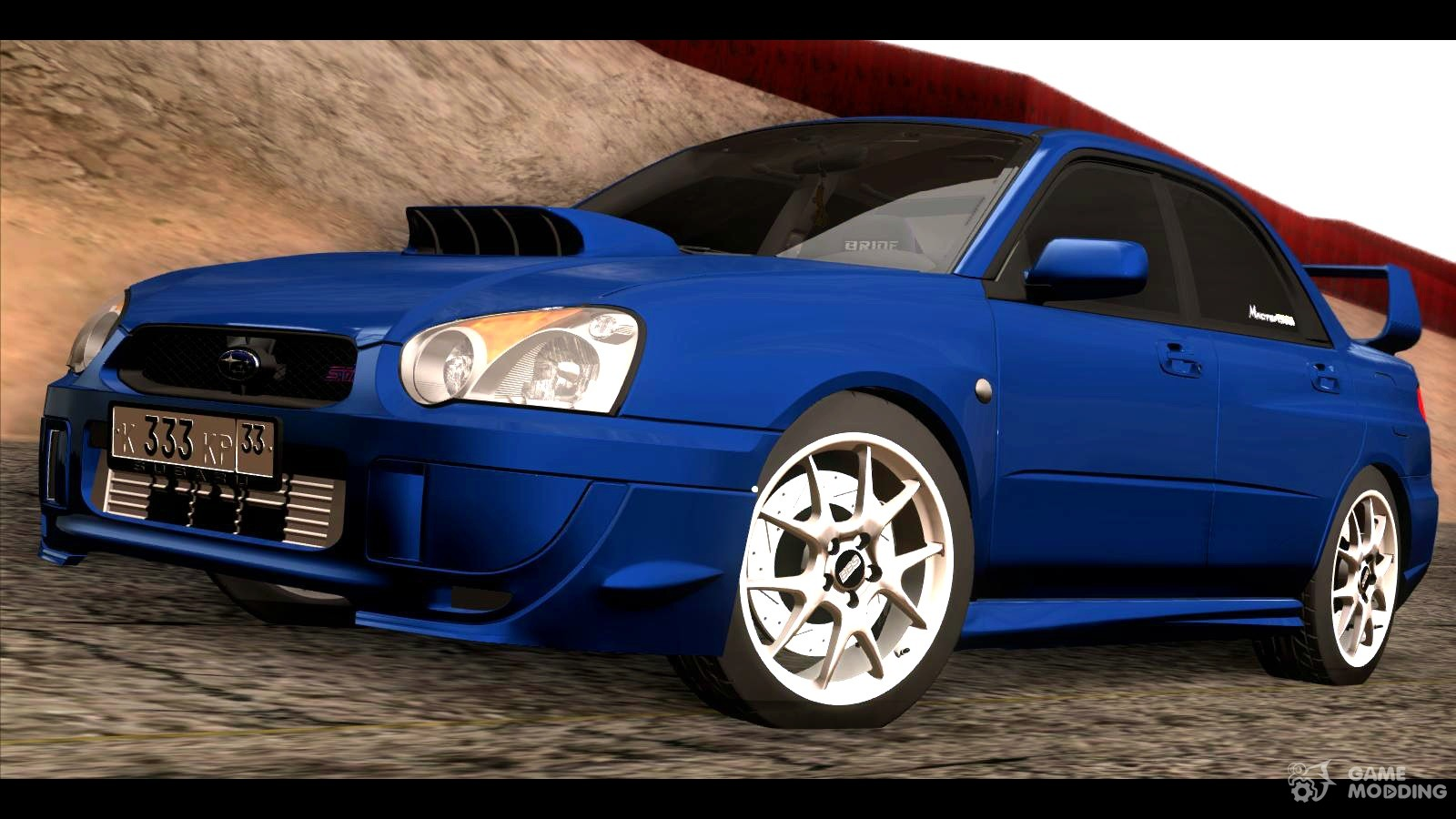 2004 subaru impreza wrx sti for gta san andreas. Black Bedroom Furniture Sets. Home Design Ideas