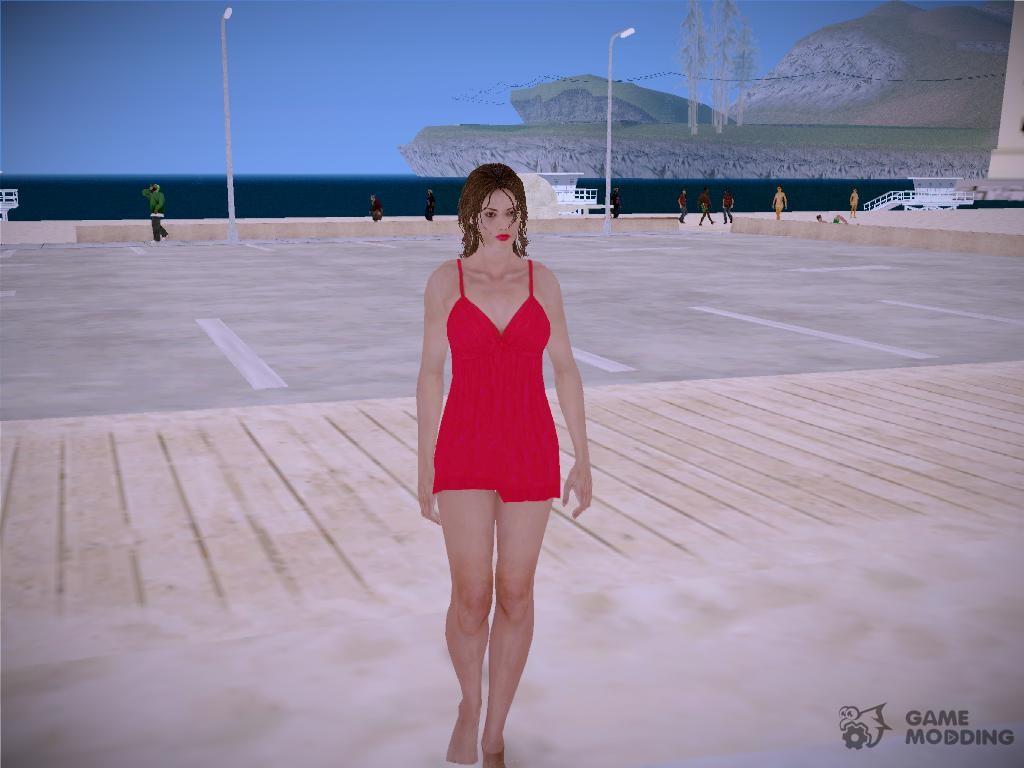 Deborah Harper from Residnet evil 6 for GTA San Andreas
