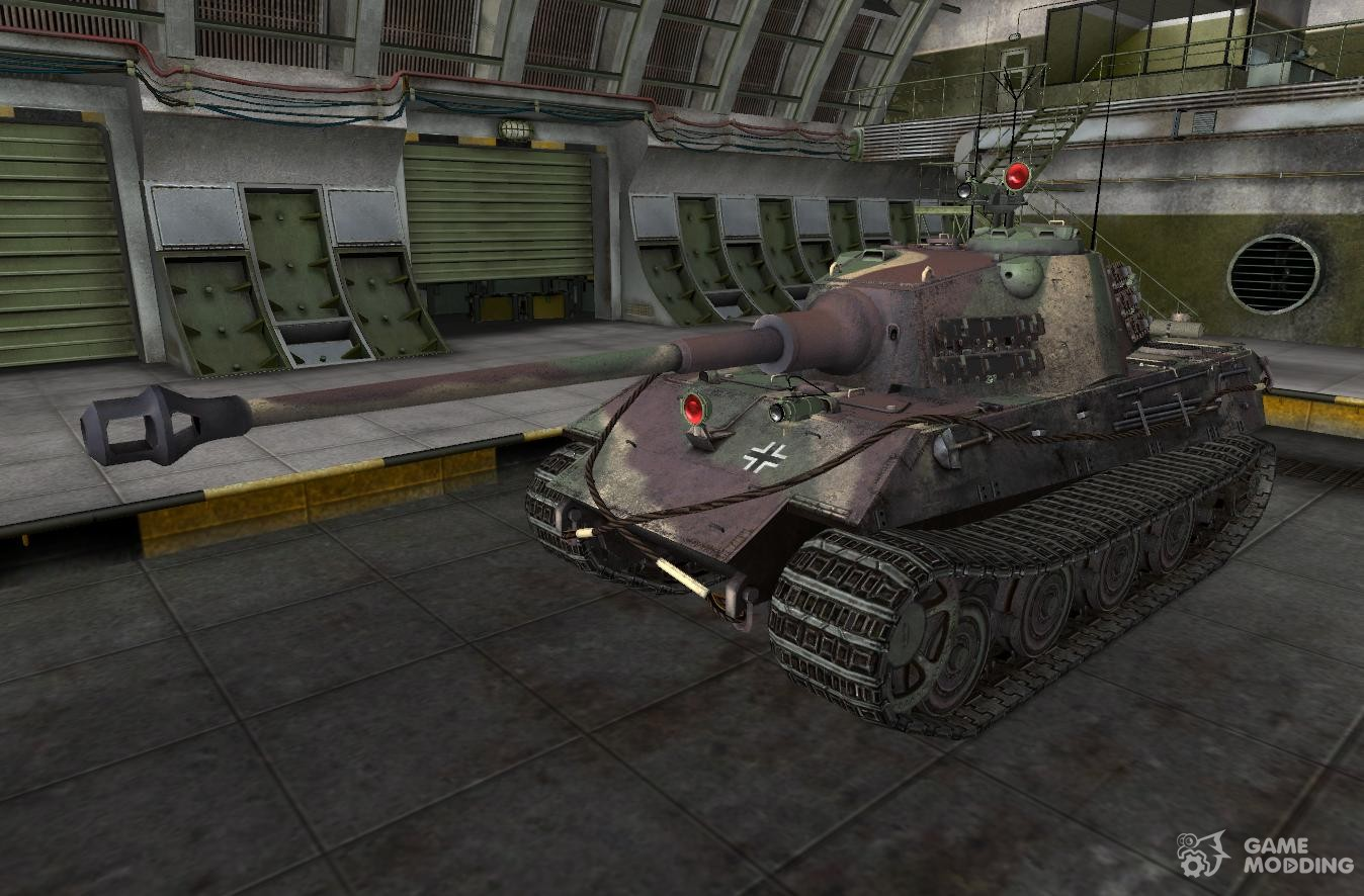 modified e-75 for world of tanks