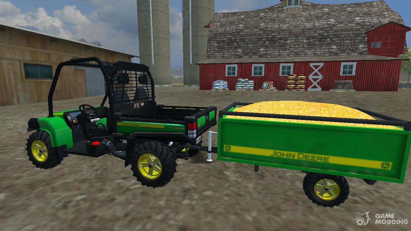 John Deere Gator 825i And Trailer For Farming Simulator 2013