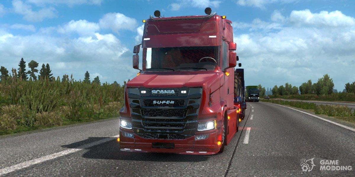 Scania T NextGen for Euro Truck Simulator 2
