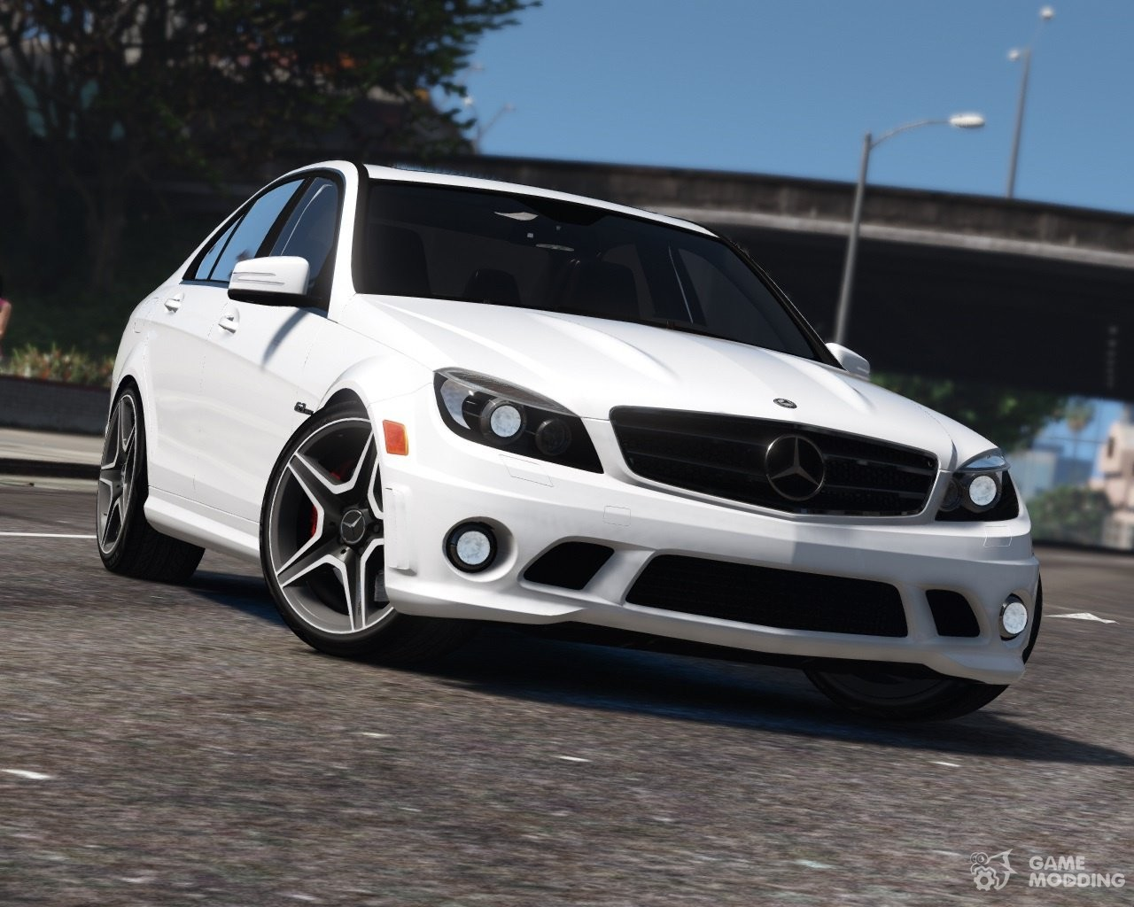 mercedes benz c63 amg w204 2011 v1 4 for gta 5. Black Bedroom Furniture Sets. Home Design Ideas