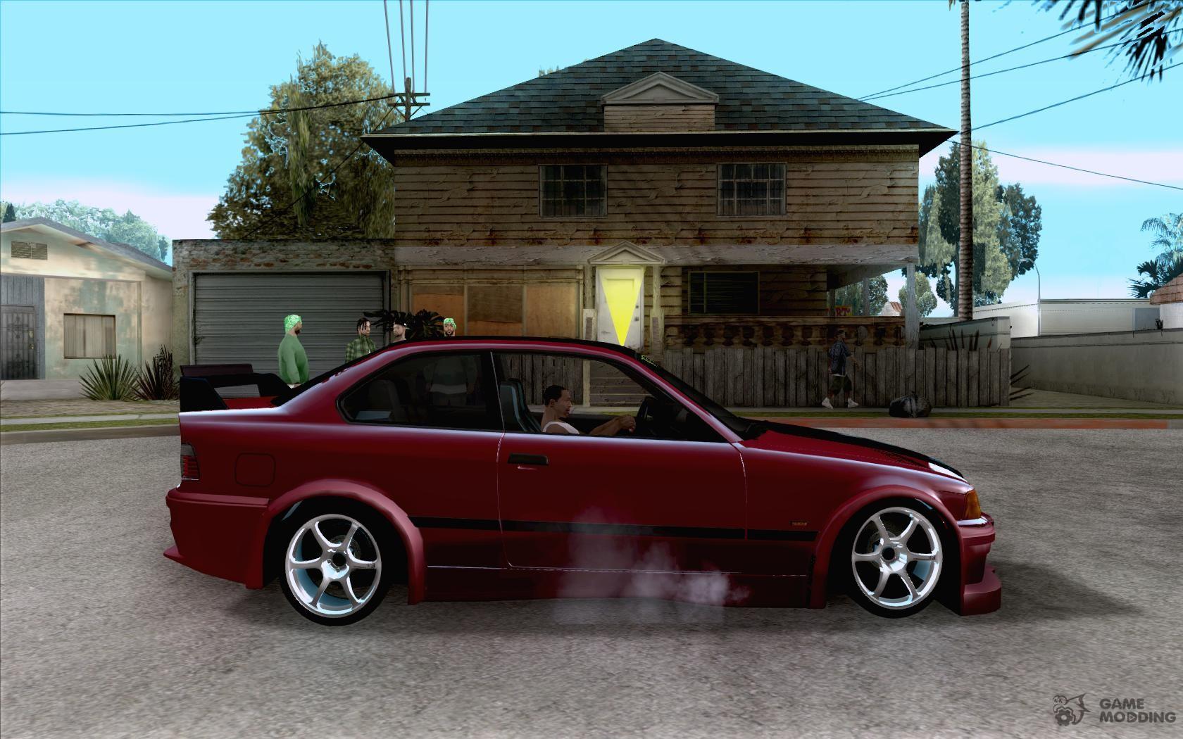 BMW E36 Wide Body Drift for GTA San Andreas
