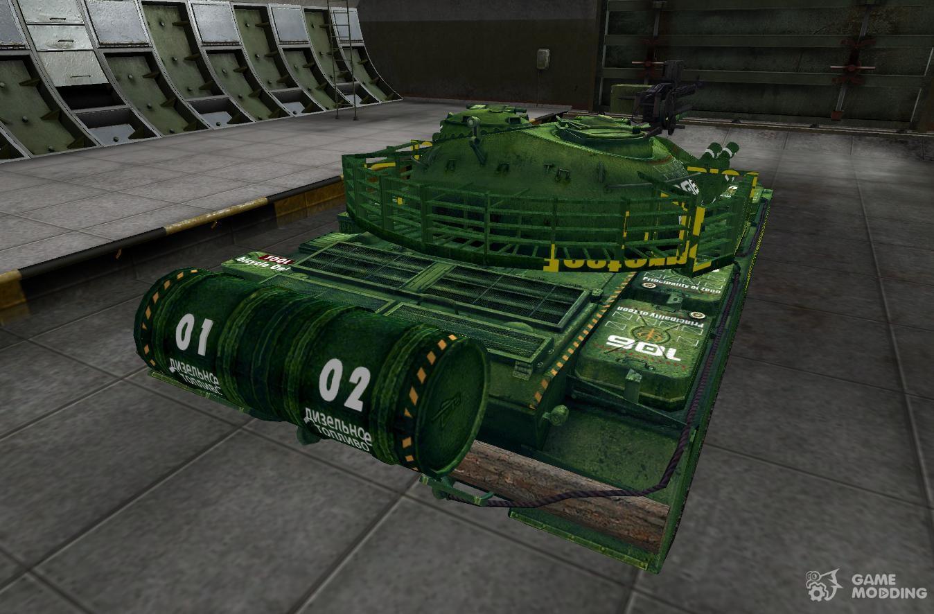 Как сделать свою шкурку для танка