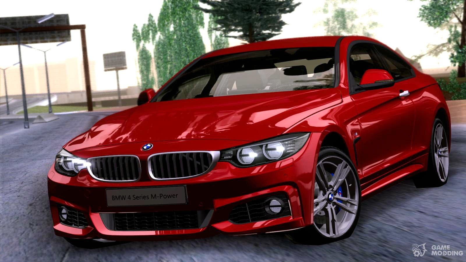 bmw 4 series coupe m sport 2014 for gta san andreas. Black Bedroom Furniture Sets. Home Design Ideas