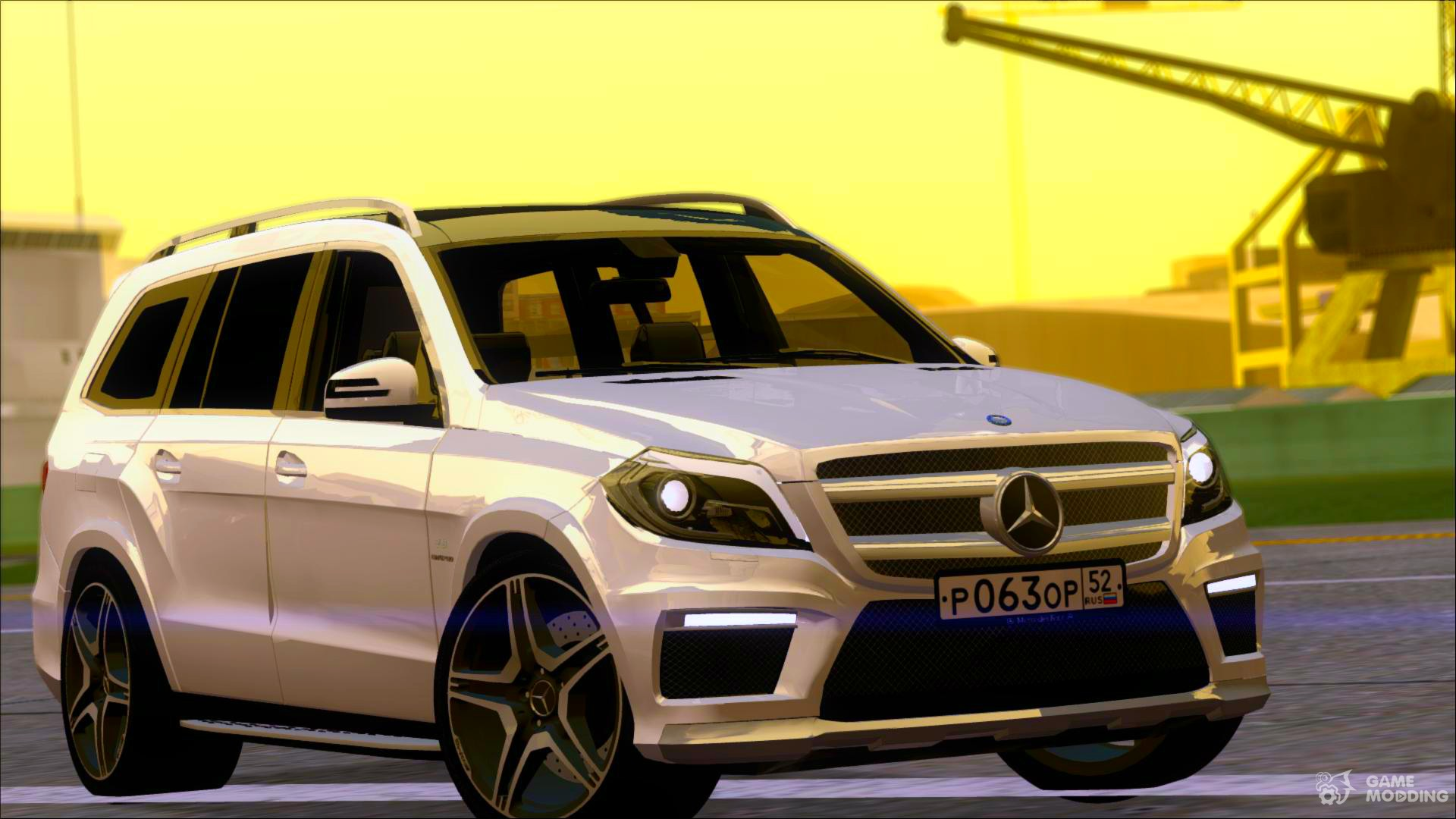 Mercedes benz gl63 amg 2014 for gta san andreas for Mercedes benz gl63