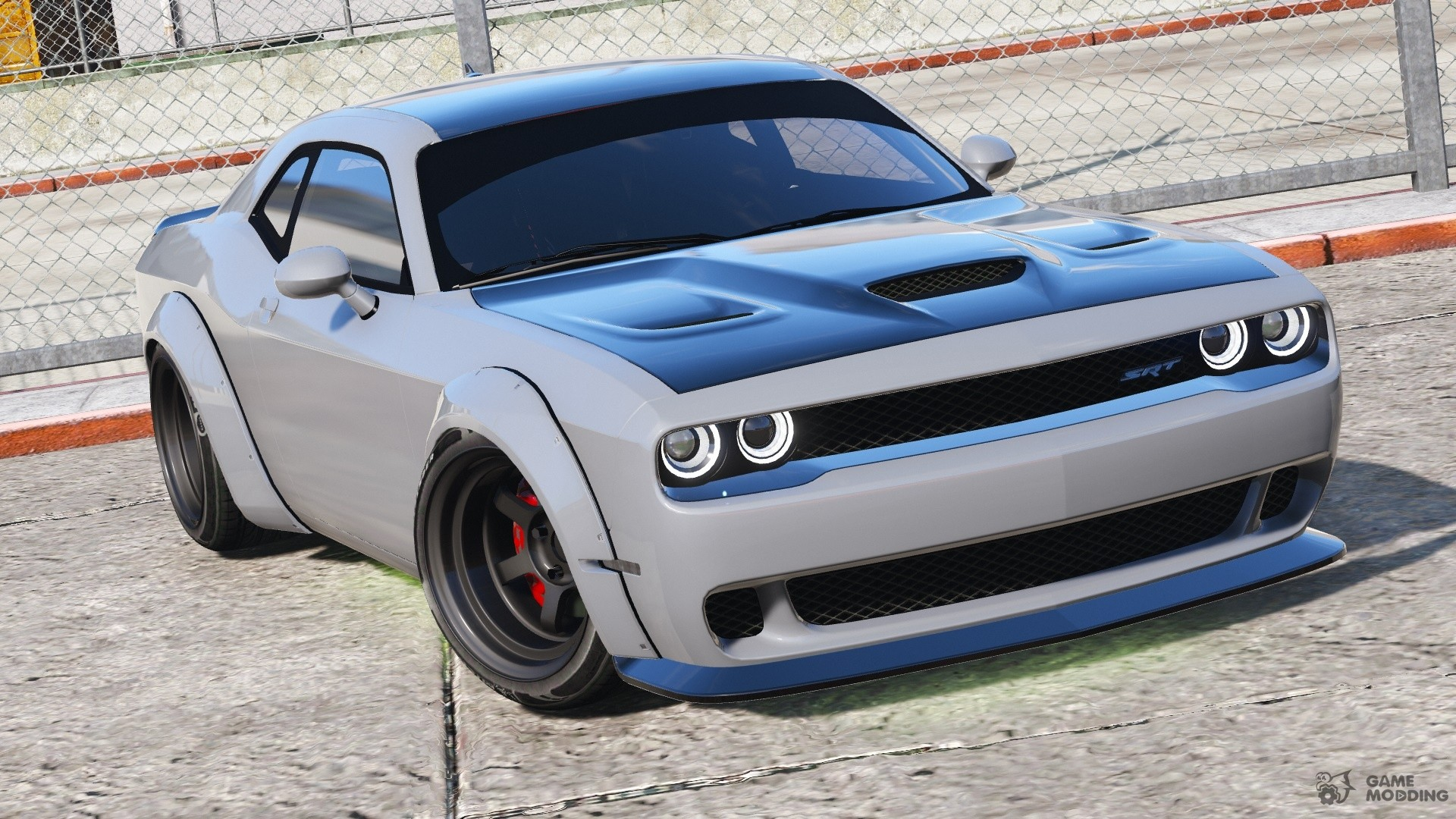 dodge challenger hellcat libertywalk the fate of the furious edition for gta 5. Black Bedroom Furniture Sets. Home Design Ideas