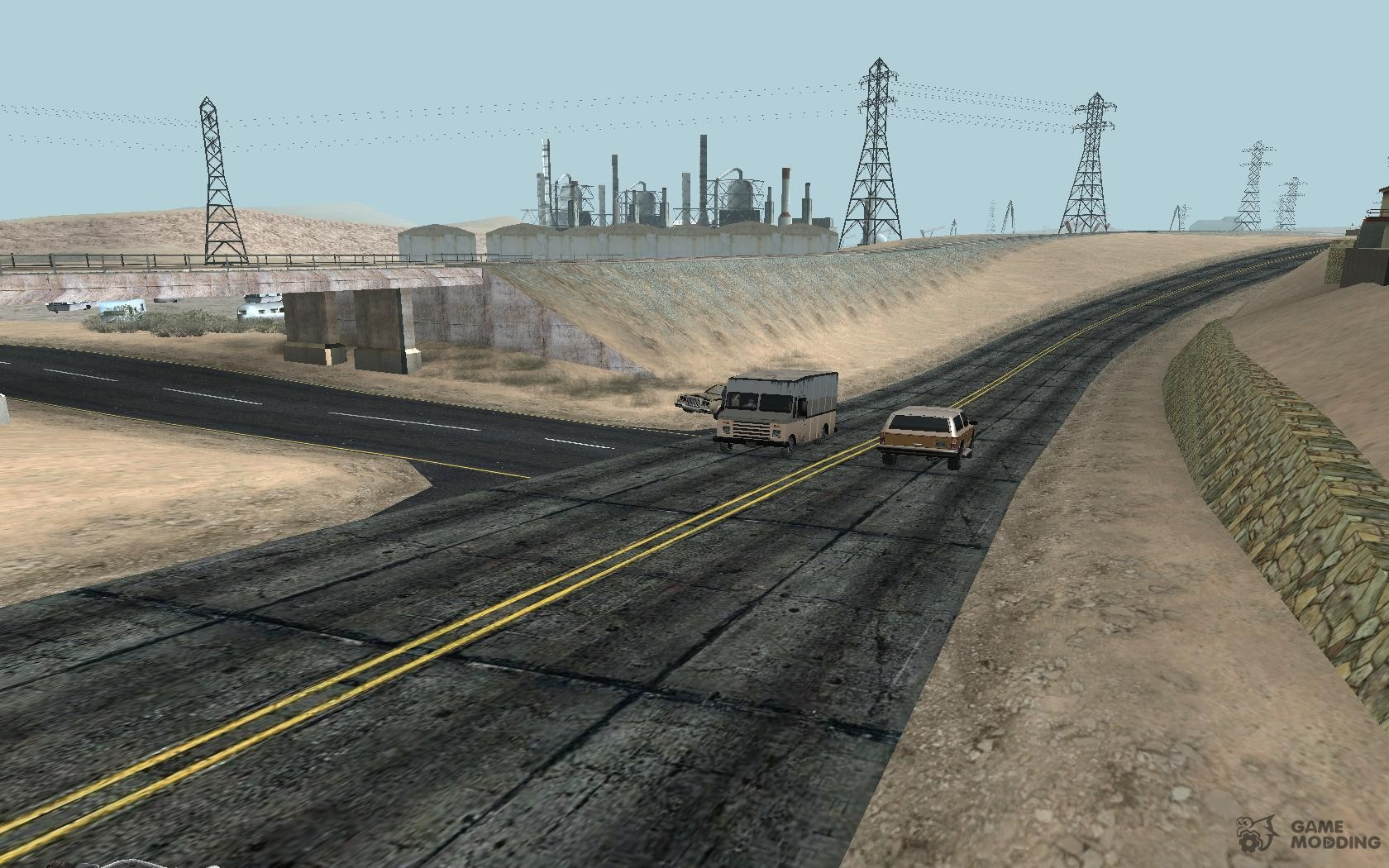 gta sa helicopters with 47011 Modern Day Las Venturas Road Texture on 19102 New Roads San Fierro further 20527 Hd Voda additionally 33021 Mappack V13 By Naka moreover 82925 Remaster Map Full Version besides 65788 Drift.