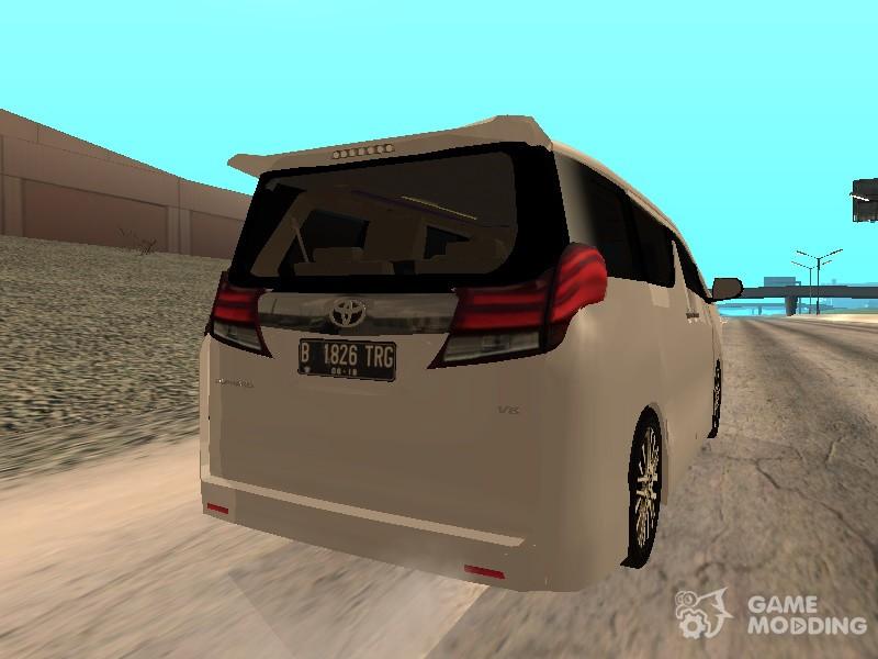 2015 Toyota Alphard 3 5 G V 2 For Gta San Andreas