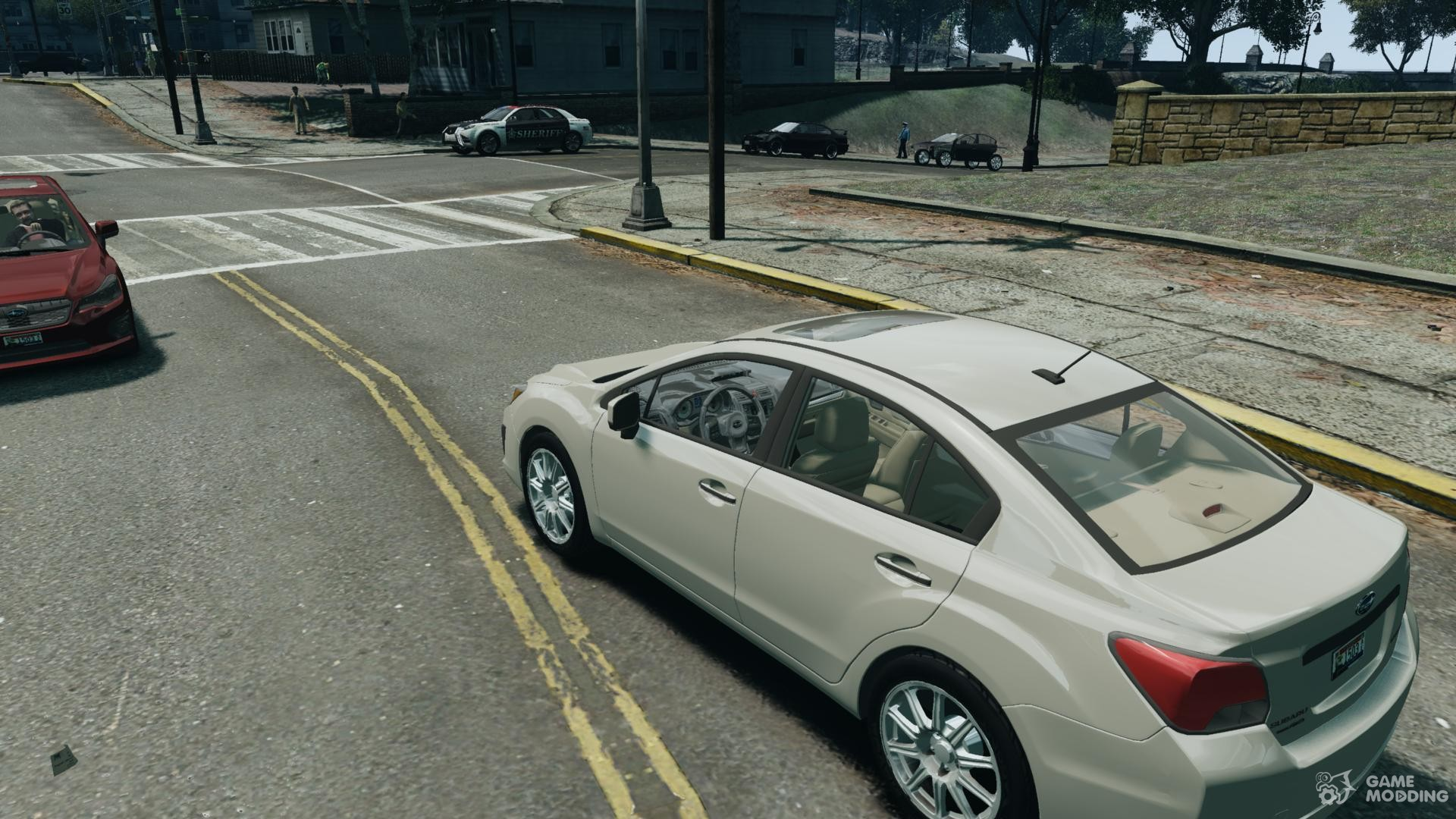 Subaru Impreza Sedan For Gta