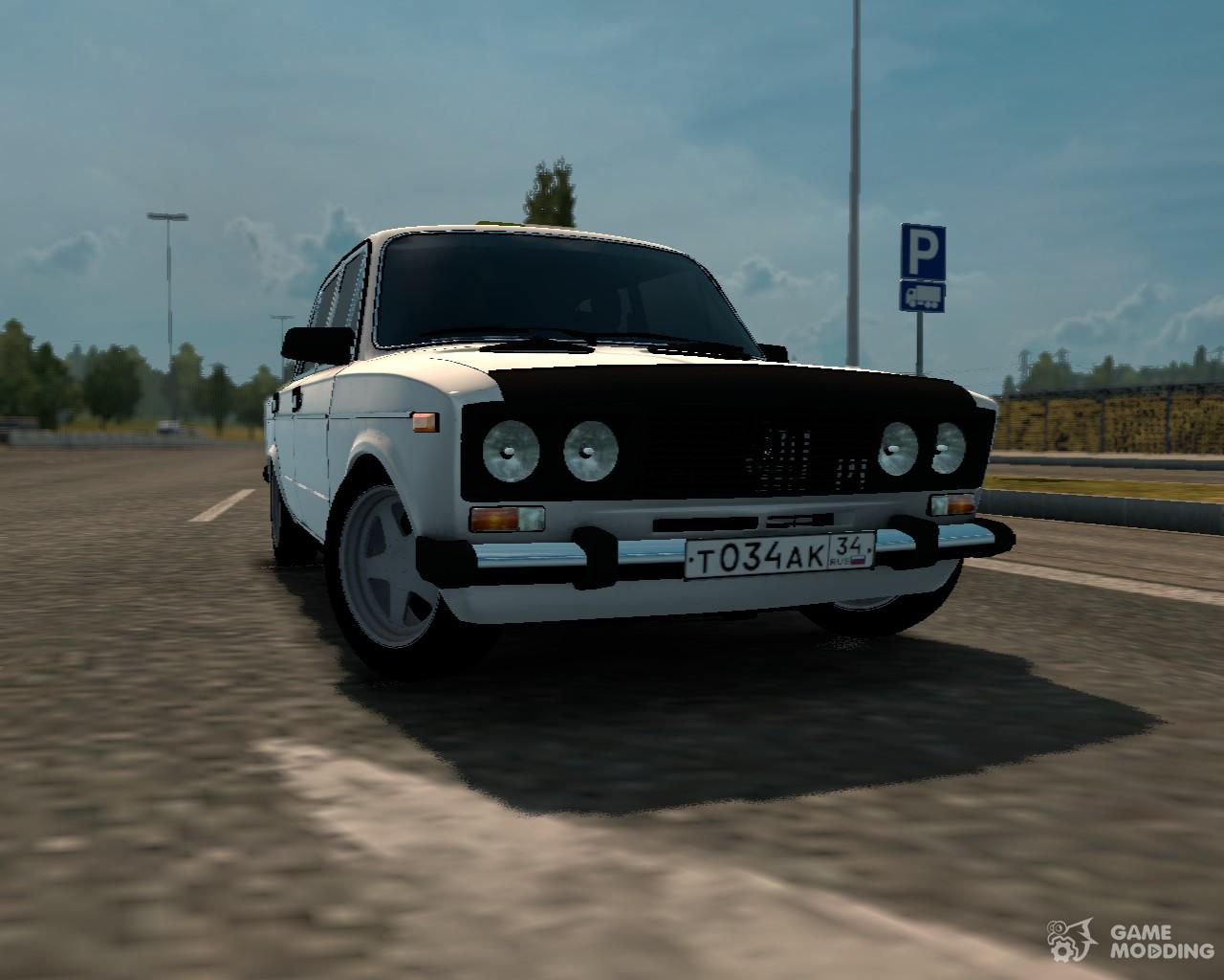 Vaz 2106 for euro truck simulator 2 for Car paint simulator