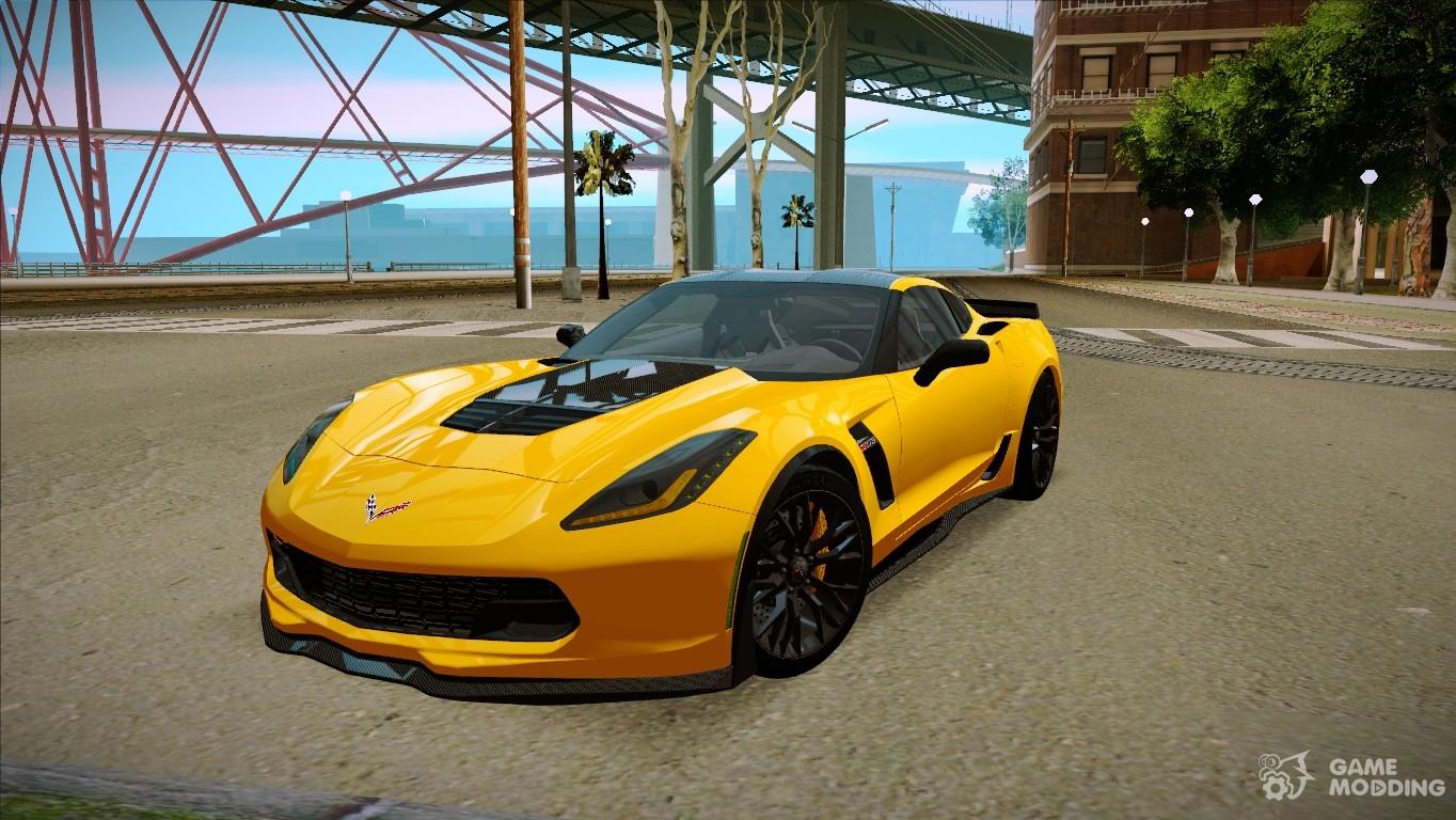 2015 chevrolet corvette c7 r z06 for gta san andreas. Black Bedroom Furniture Sets. Home Design Ideas