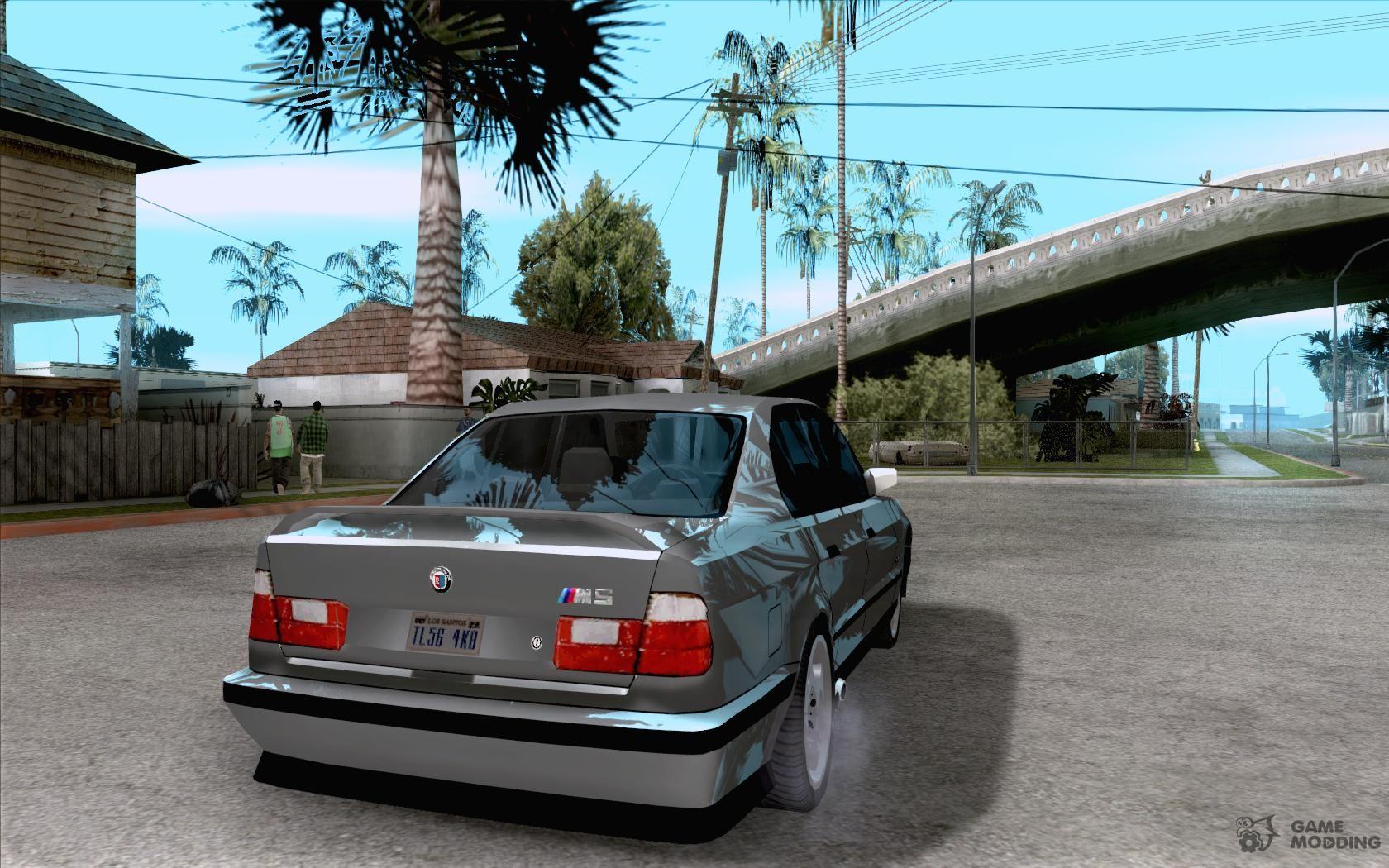 BMW M E For GTA San Andreas - 1990 bmw m5