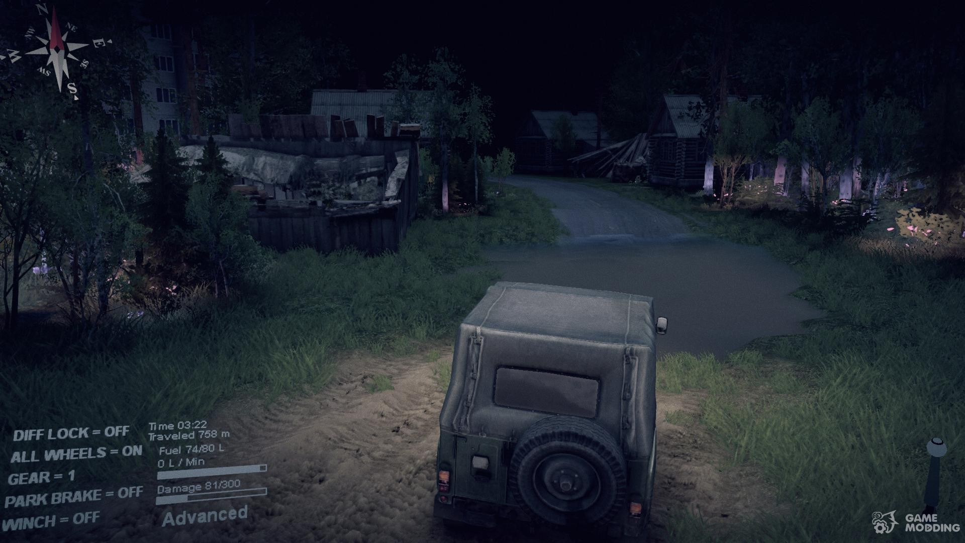 how to put mod maps into spintires
