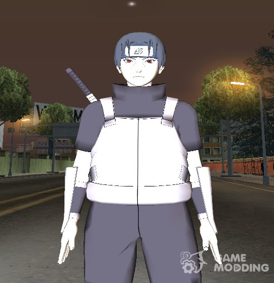 Uchiha Itachi from Naruto HD Konohagakure anbu for GTA San Andreas