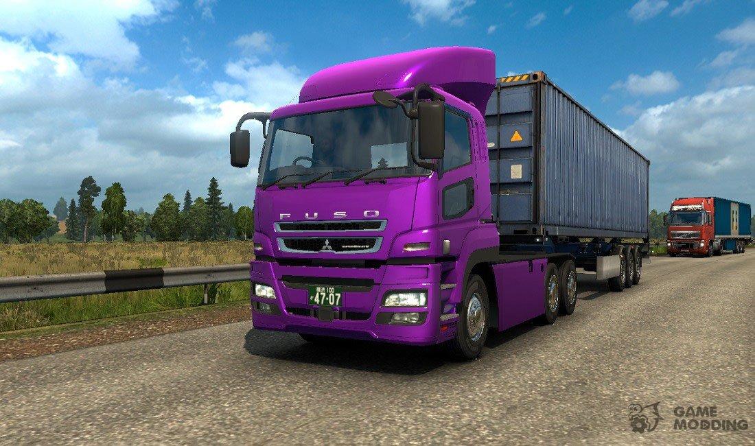 Mitsubishi Fuso Super Great for Euro Truck Simulator 2