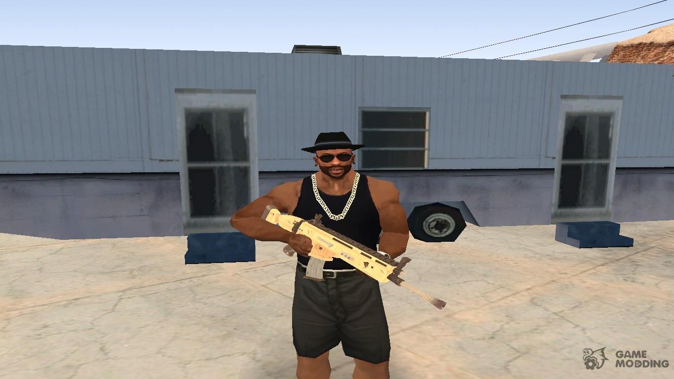 Fortnite Battle Royale Scar Scar H From Fortnite Battle Royale Para Gta San Andreas