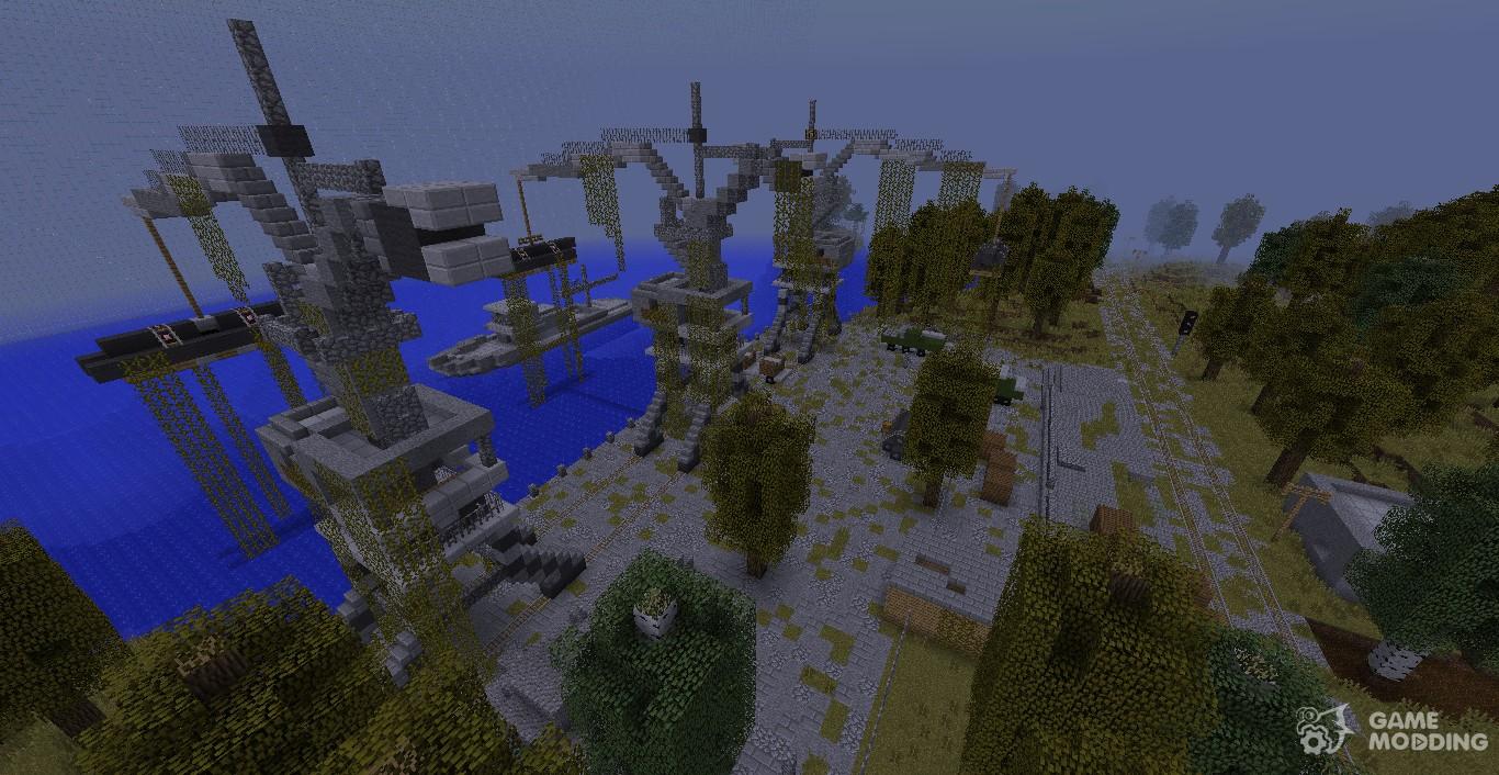 Карта Припять для Minecraft - скачать для версии 1.5.2, 1 ...