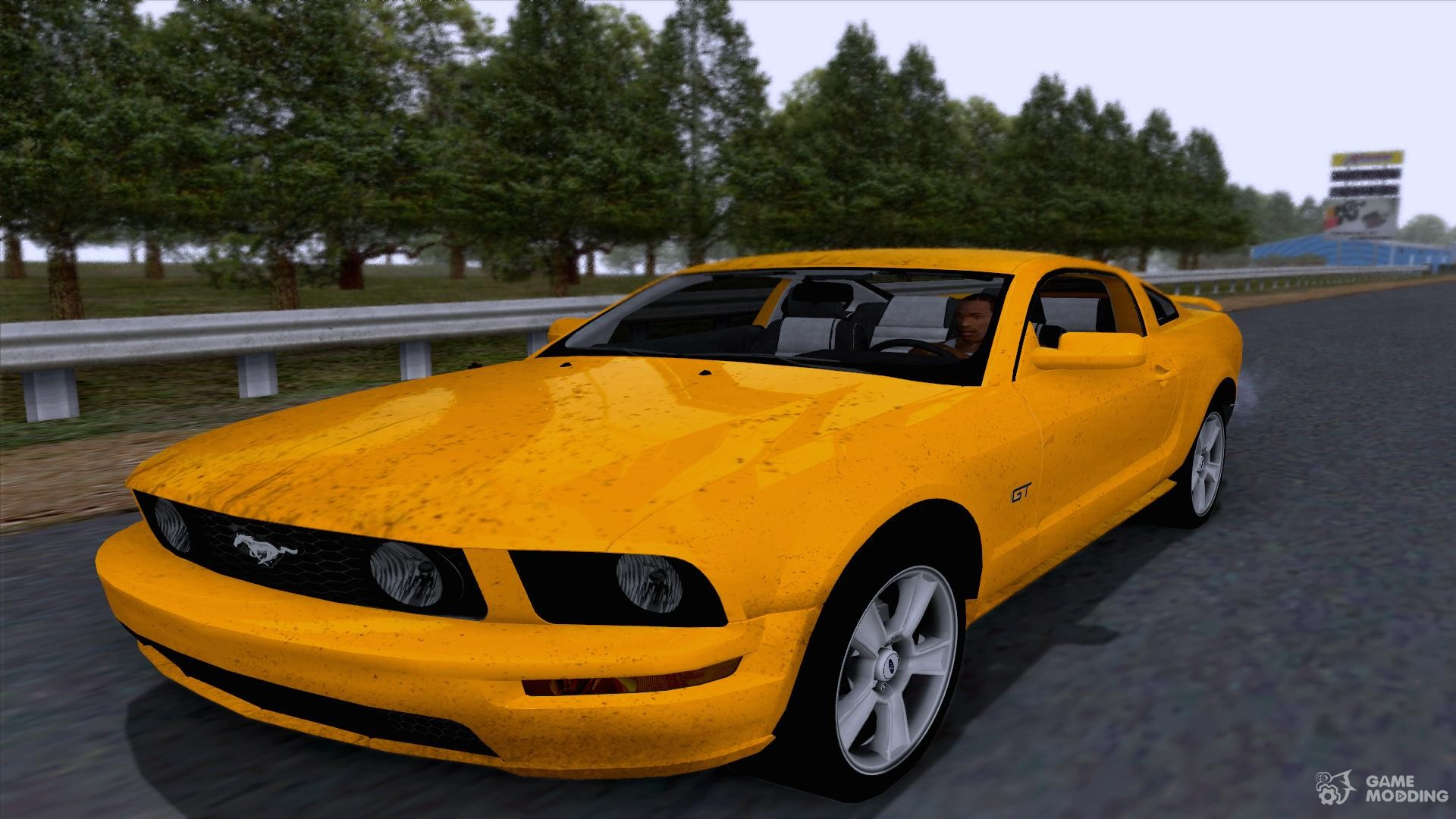 2005 ford mustang gt for gta san andreas. Black Bedroom Furniture Sets. Home Design Ideas