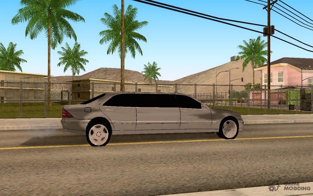 Mercedes-Benz S600L Pu...