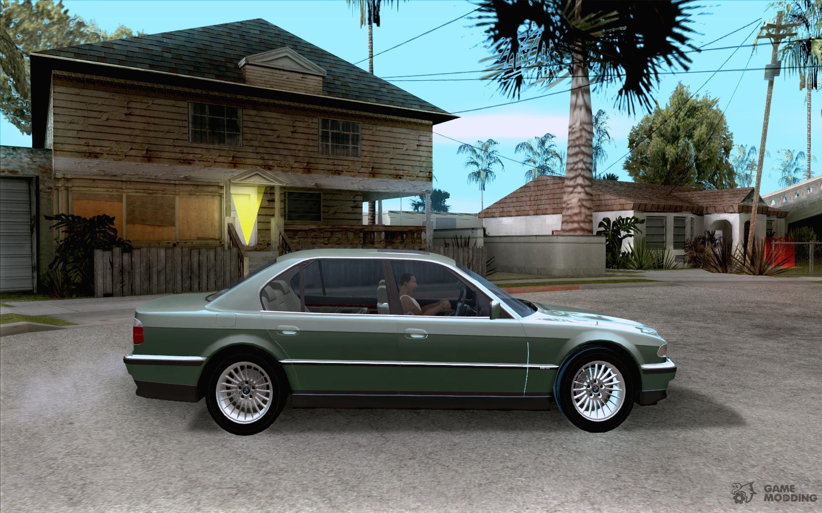 BMW 750i E38 For GTA San Andreas Inside View