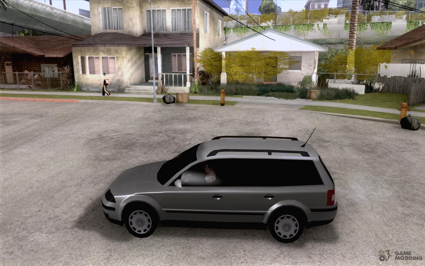 vw passat b5 wagon 1 9 tdi for gta san andreas. Black Bedroom Furniture Sets. Home Design Ideas