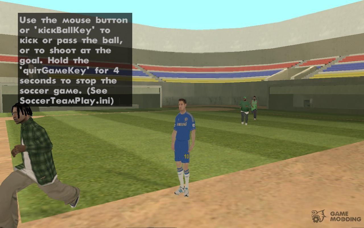 GTA Soccer Team Play for GTA San Andreas