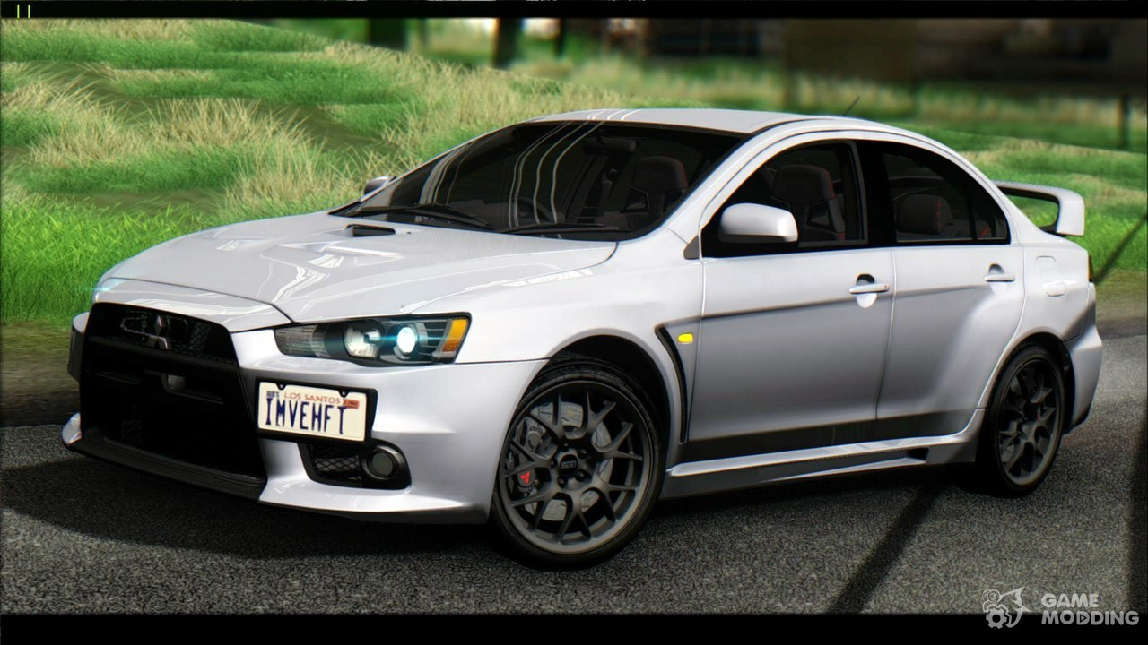 2015 mitsubishi lancer evolution x final edition for gta san andreas. Black Bedroom Furniture Sets. Home Design Ideas