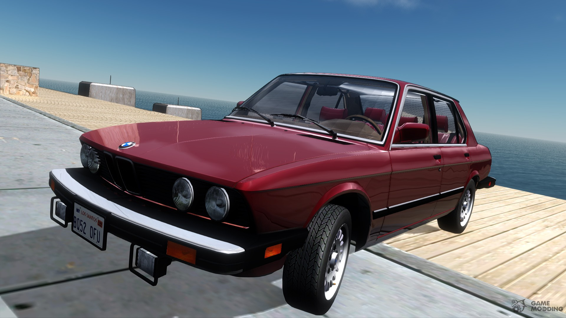 BMW 535i (e28) 1985 US-spec for GTA San Andreas