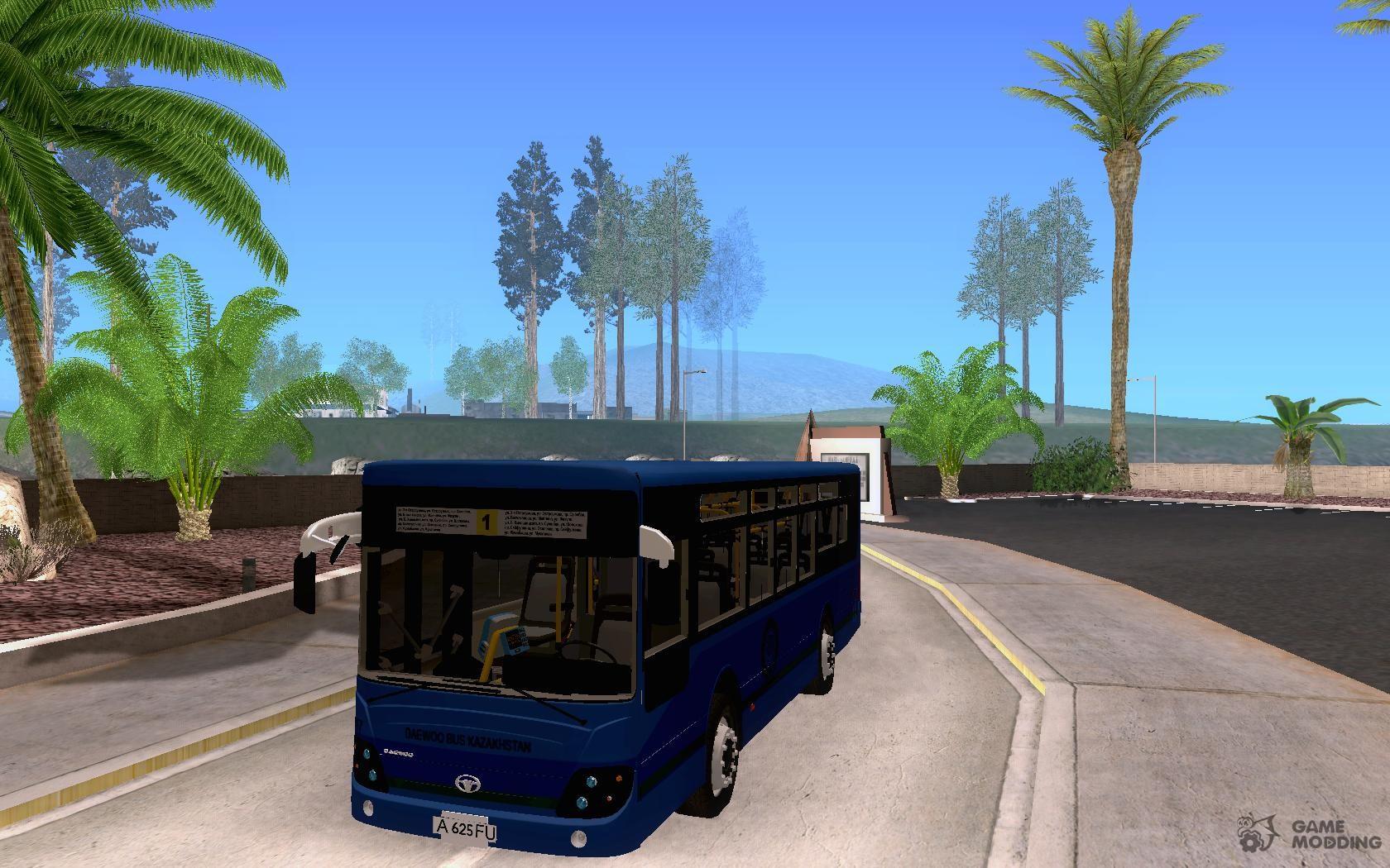 Daewoo Bus BC211MA Almaty for GTA San Andreas