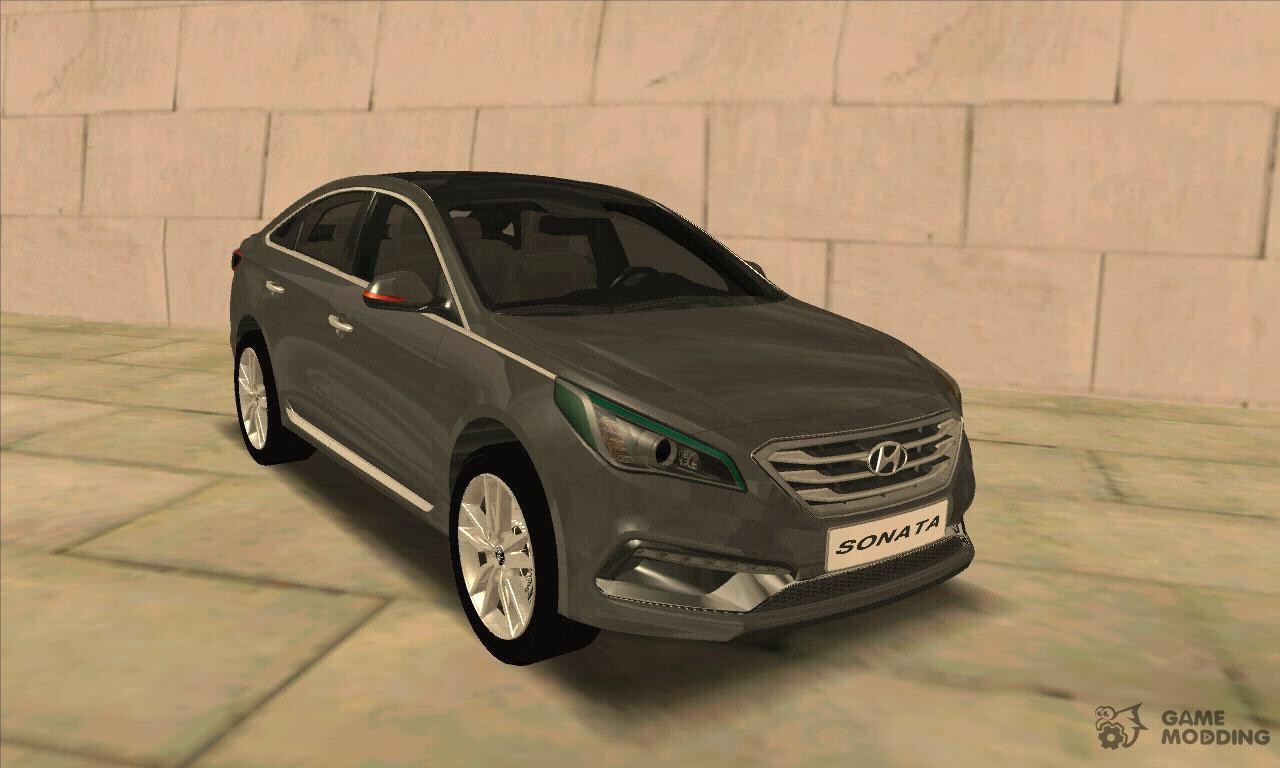 hyundai sonata turbo 2 0 2015 for gta san andreas. Black Bedroom Furniture Sets. Home Design Ideas