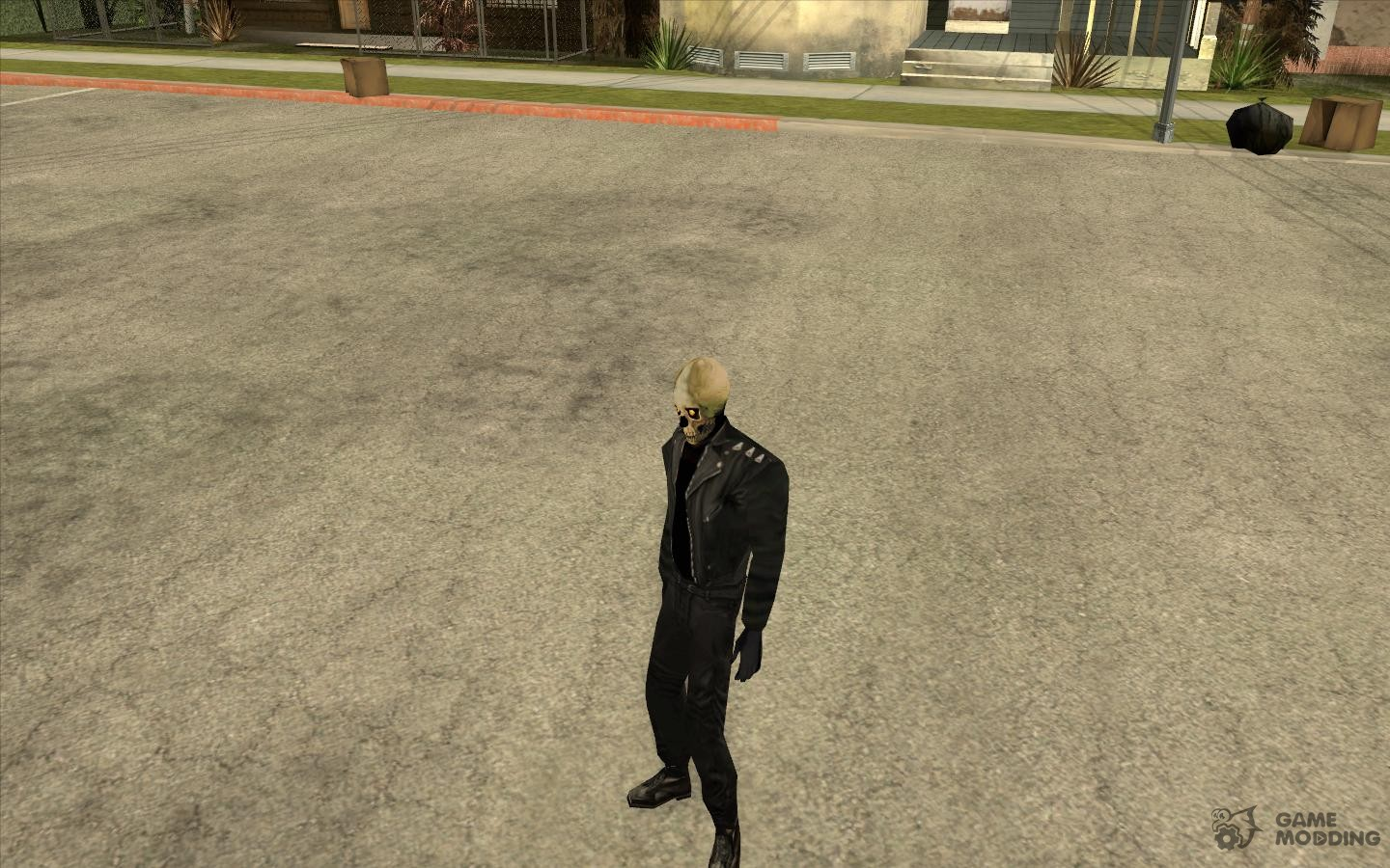 Ghost Ryder Skin for GTA San Andreas