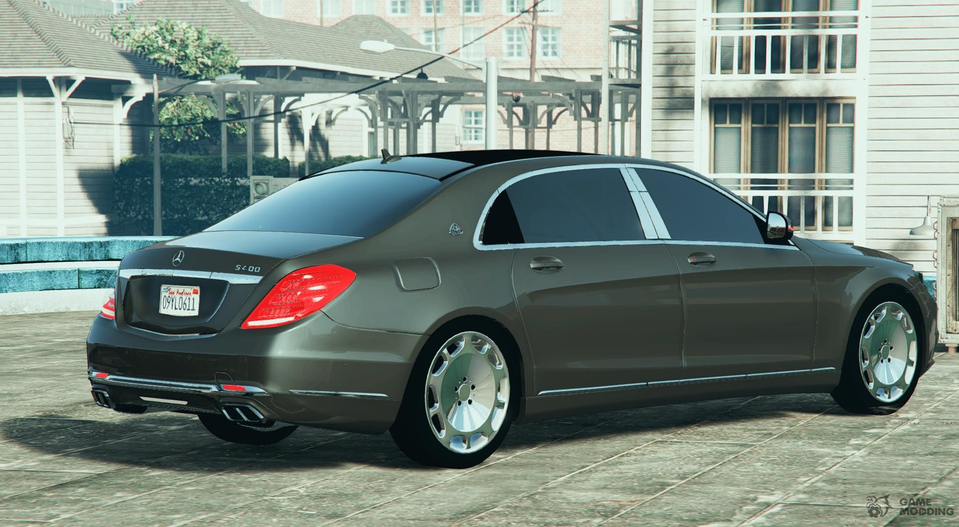 2016 mercedes benz maybach s600 for gta 5 for Mercedes benz s600 maybach