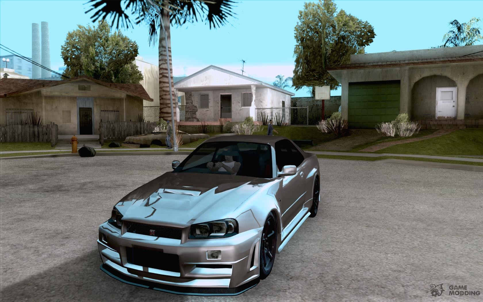Nissan nissan sky : Skyline GT-R R34 from FnF 4 for GTA San Andreas