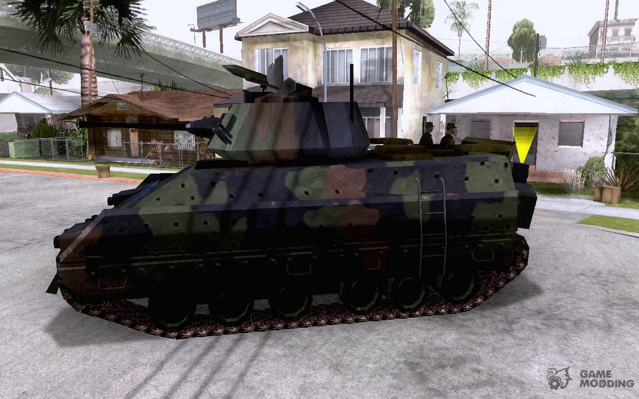 gta san andreas how to get a tank