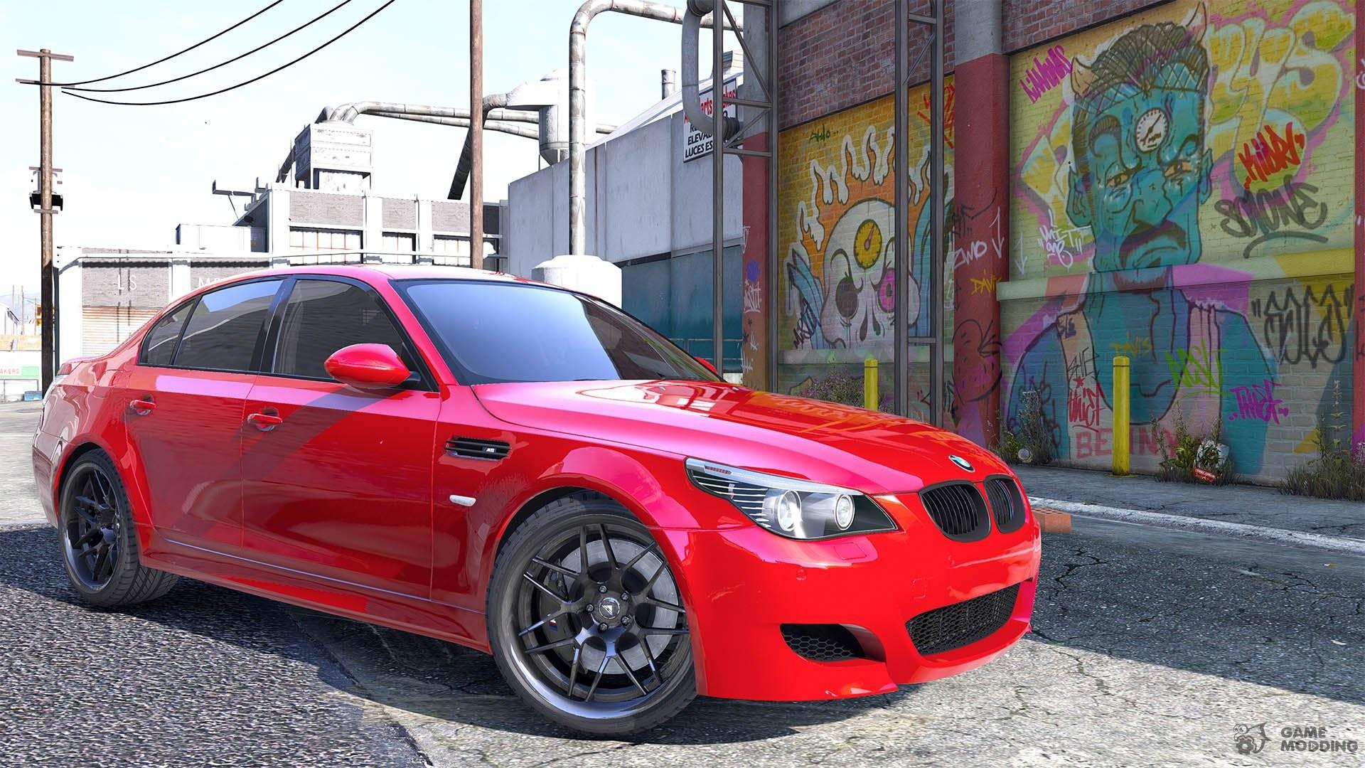 BMW M5 E60 10a for GTA 5