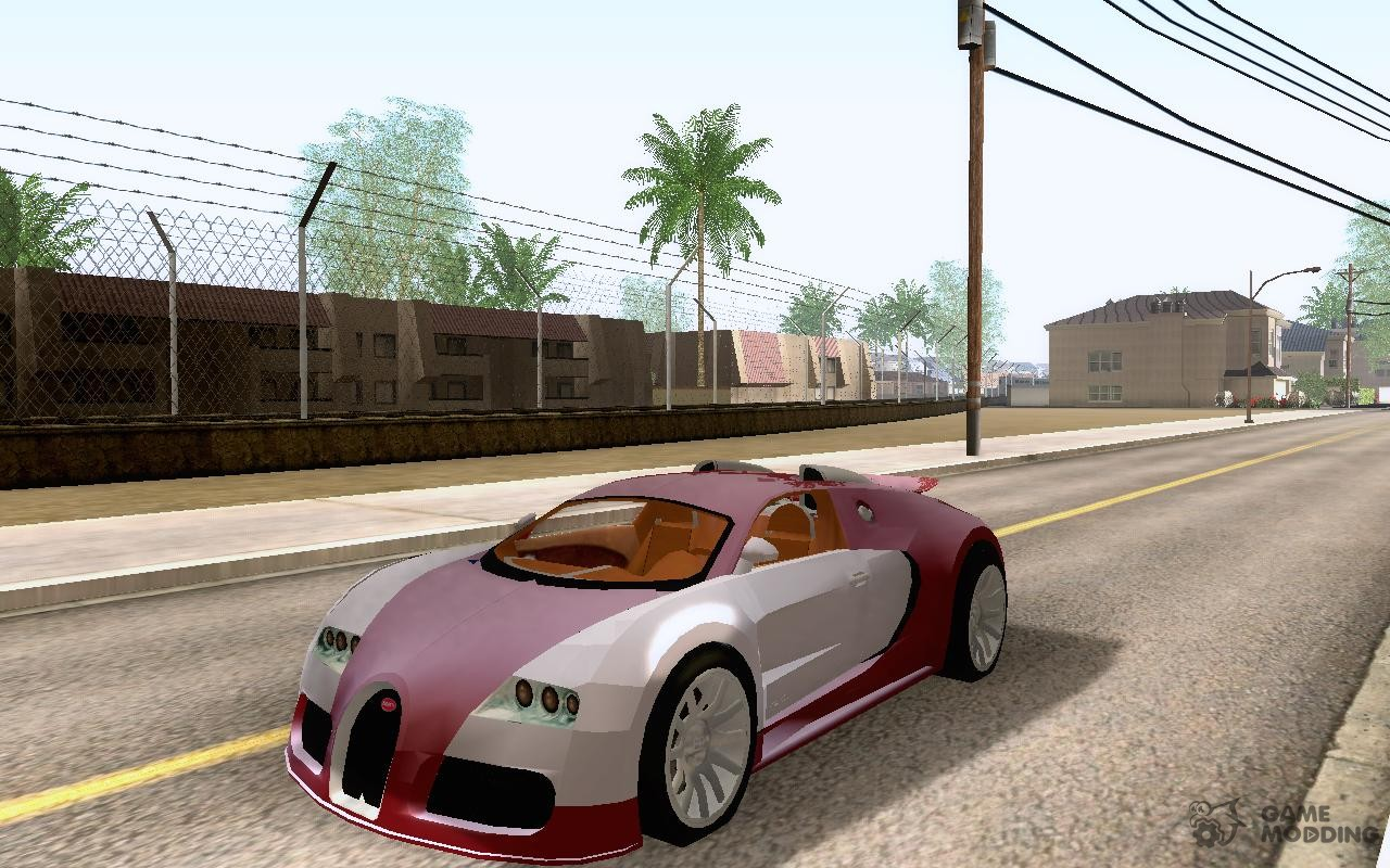 bugatti veyron 16 4 concept for gta san andreas. Black Bedroom Furniture Sets. Home Design Ideas