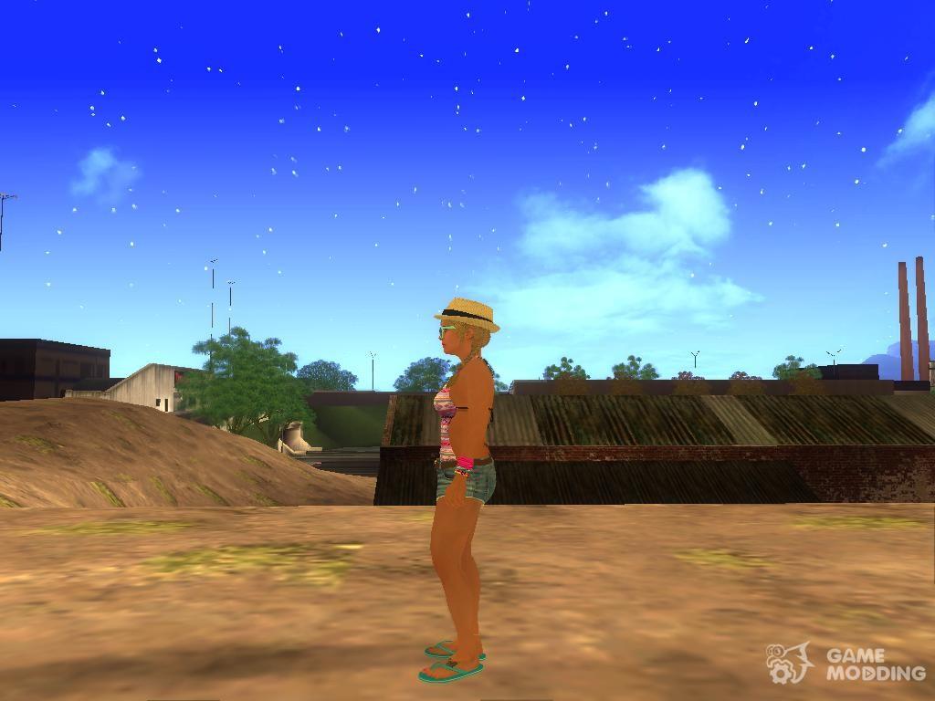 Tracey De Santa (GTA V) v. 2 for GTA San Andreas