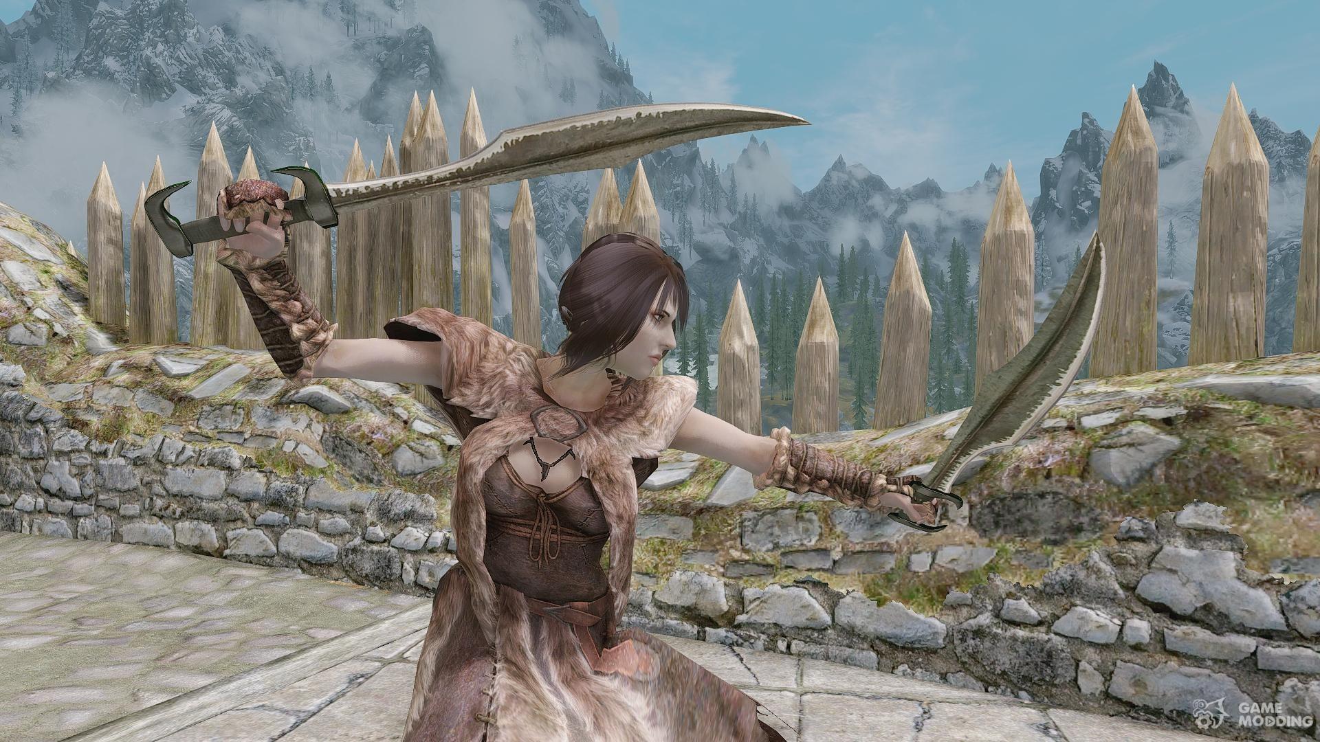 Scimitar Sword Skyrim